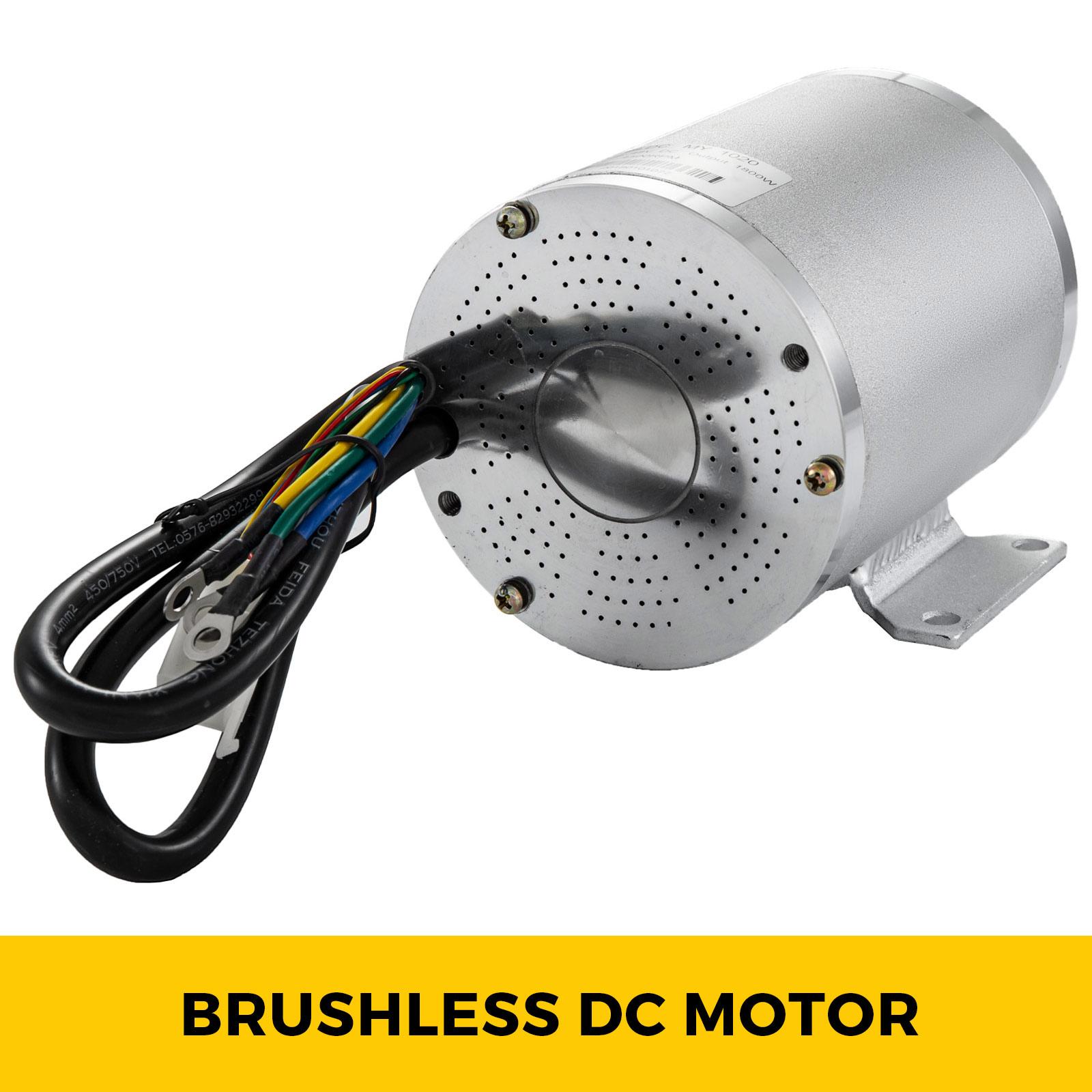 1800W-48V-DC-Brushless-Electric-Motor-Kit-f-Scooter-500-1800W-E-Bike-Go-Kart thumbnail 194