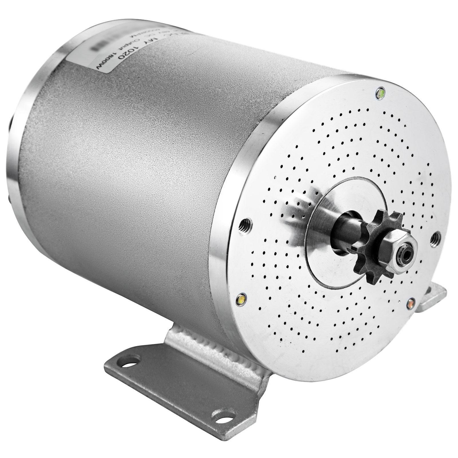 1800W-48V-DC-Brushless-Electric-Motor-Kit-f-Scooter-500-1800W-E-Bike-Go-Kart thumbnail 240