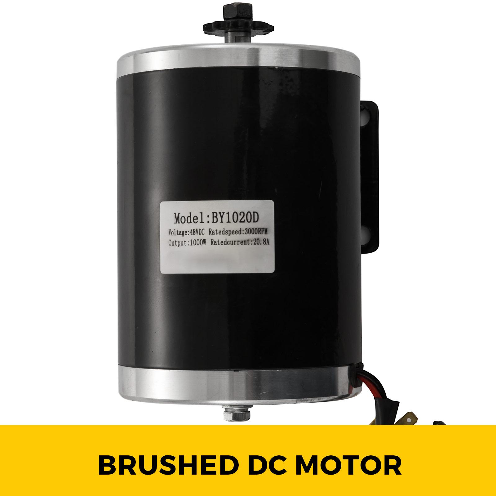 1800W-48V-DC-Brushless-Electric-Motor-Kit-f-Scooter-500-1800W-E-Bike-Go-Kart thumbnail 50