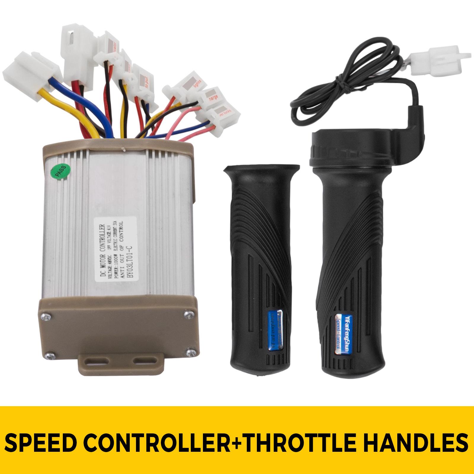 1800W-48V-DC-Brushless-Electric-Motor-Kit-f-Scooter-500-1800W-E-Bike-Go-Kart thumbnail 53