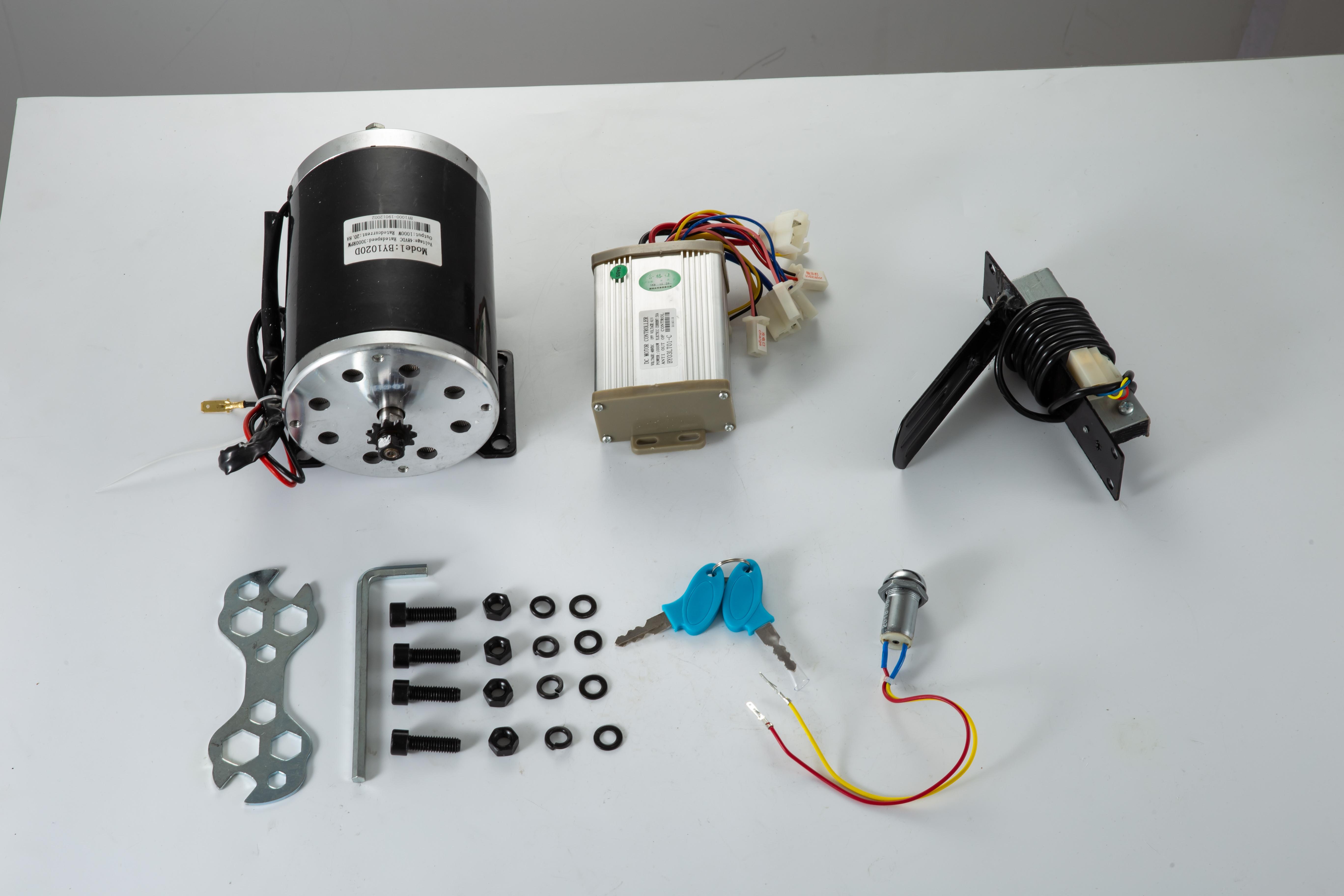 1800W-48V-DC-Brushless-Electric-Motor-Kit-f-Scooter-500-1800W-E-Bike-Go-Kart thumbnail 108