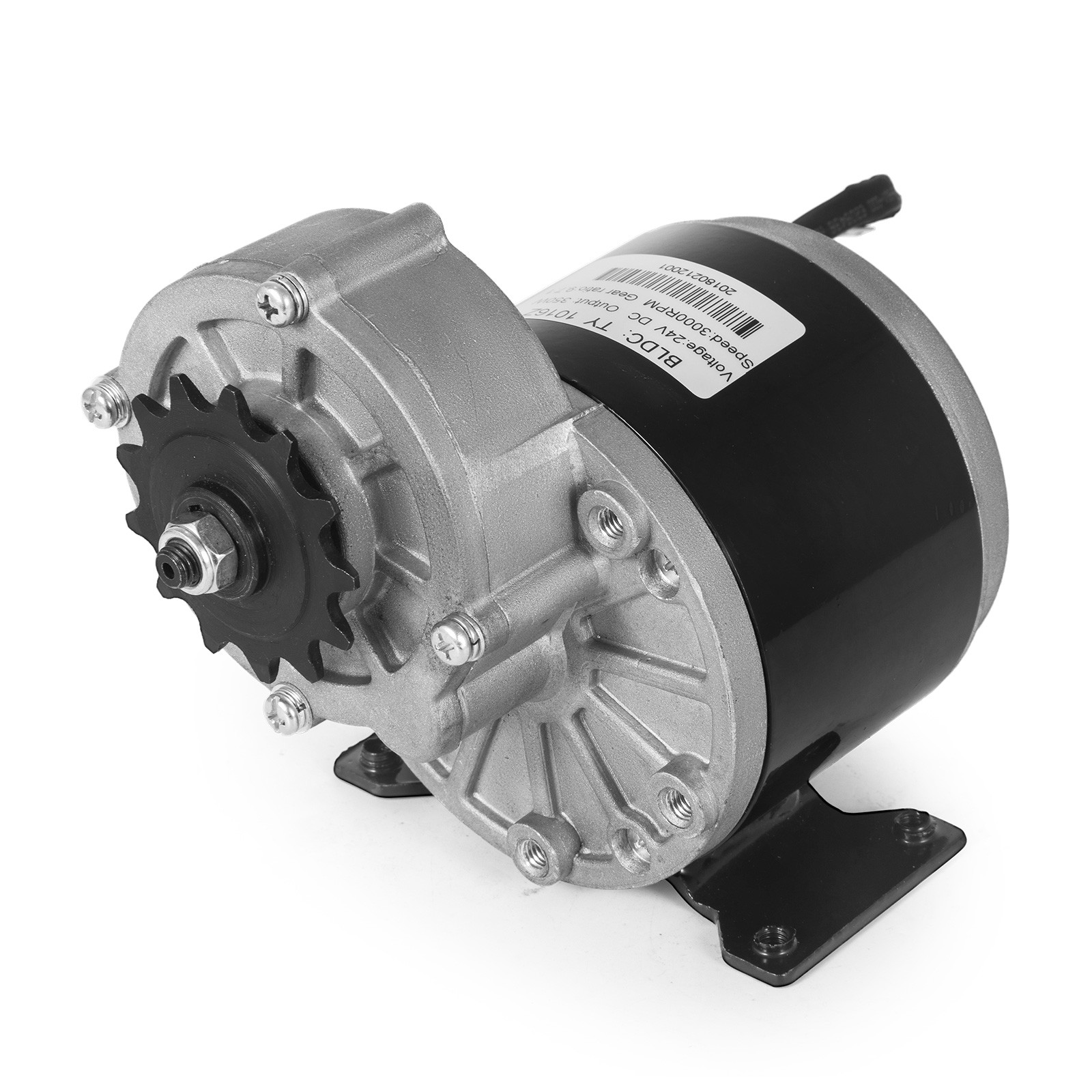 Electric-Motor-E-bike-Motor-controller-kit-DC-24v-12v-Minibike-E-Scooter-ATV thumbnail 49