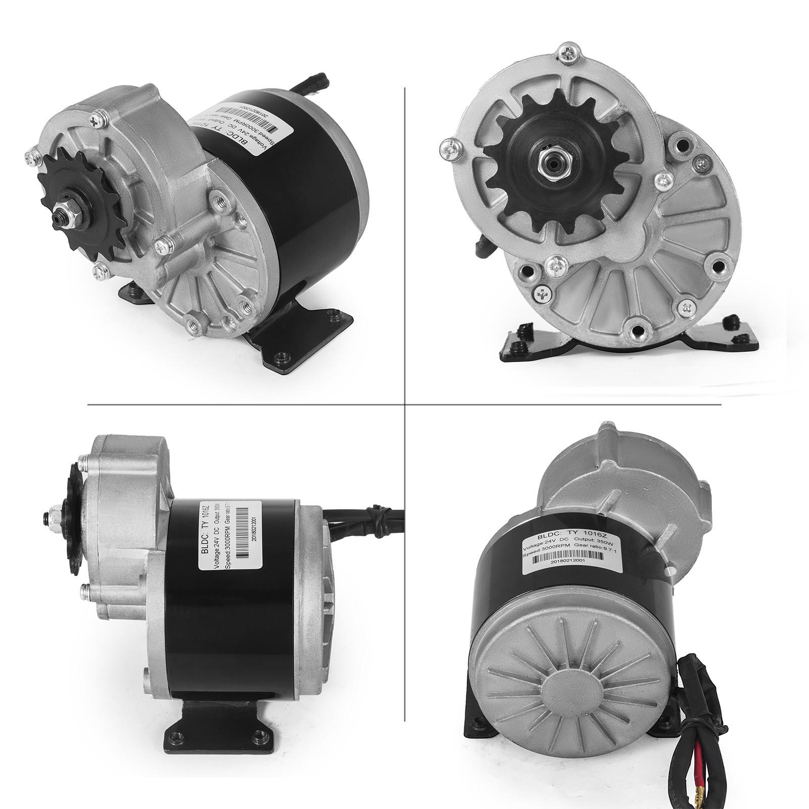 Electric-Motor-E-bike-Motor-controller-kit-DC-24v-12v-Minibike-E-Scooter-ATV thumbnail 60