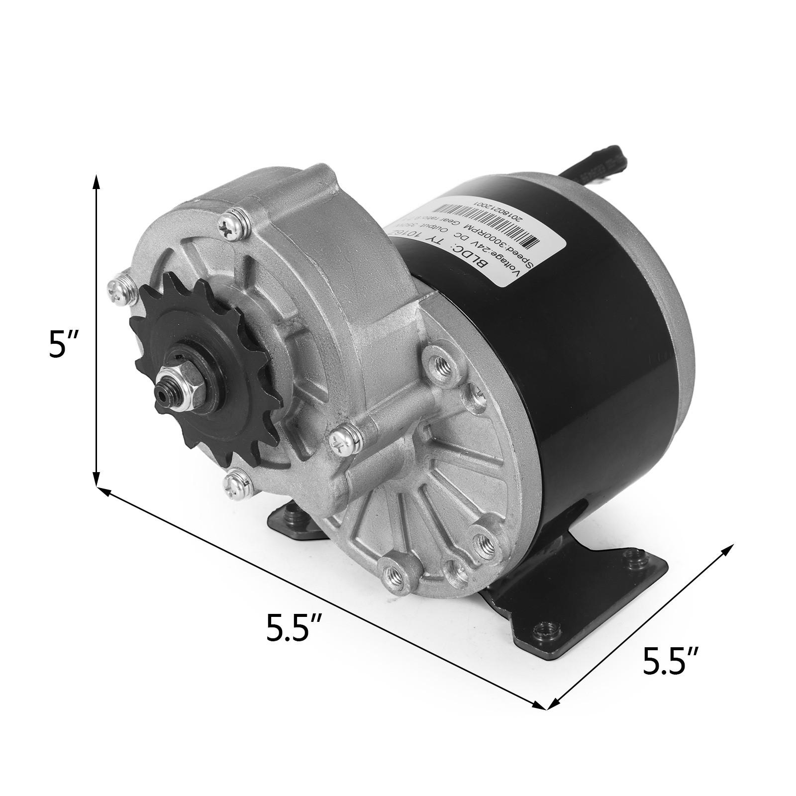 Electric-Motor-E-bike-Motor-controller-kit-DC-24v-12v-Minibike-E-Scooter-ATV thumbnail 50