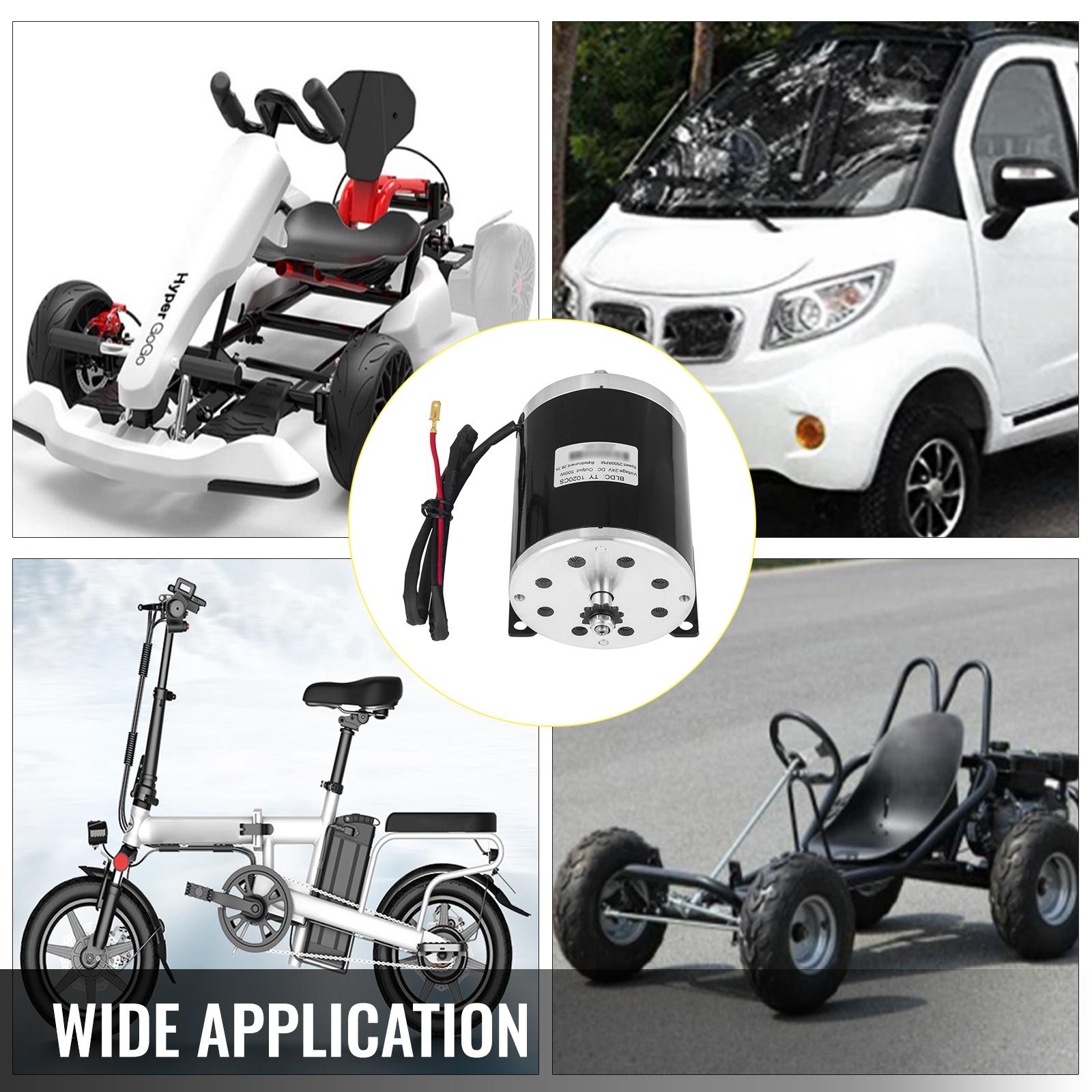 24V-500W-3500RPM-Electric-Motor-f-scooter-bike-go-kart-minibike-MY1016 thumbnail 91