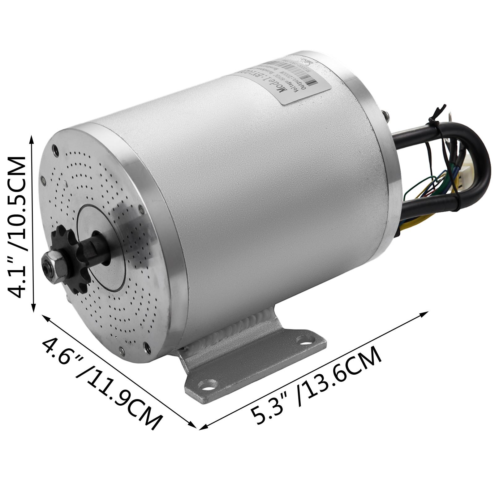 DC-electric-motor-12-60V-150W-2KW-for-scooter-bike-go-kart-minibike-e-ATV thumbnail 176
