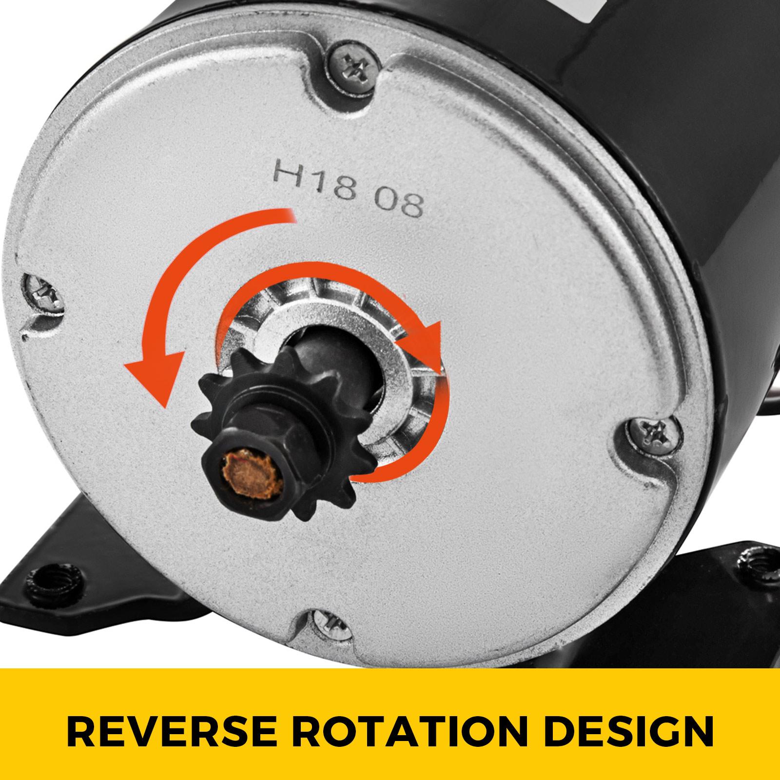 Electric-Motor-E-bike-Motor-controller-kit-DC-24v-12v-Minibike-E-Scooter-ATV thumbnail 28