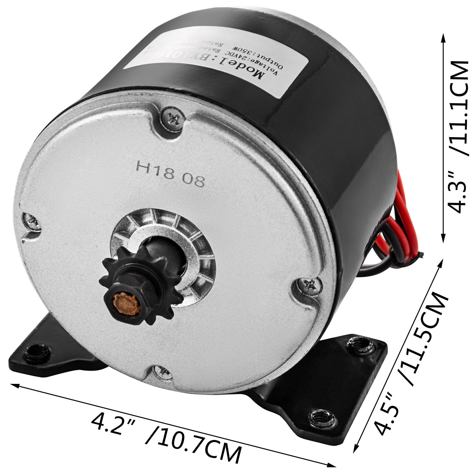 Electric-Motor-E-bike-Motor-controller-kit-DC-24v-12v-Minibike-E-Scooter-ATV thumbnail 32