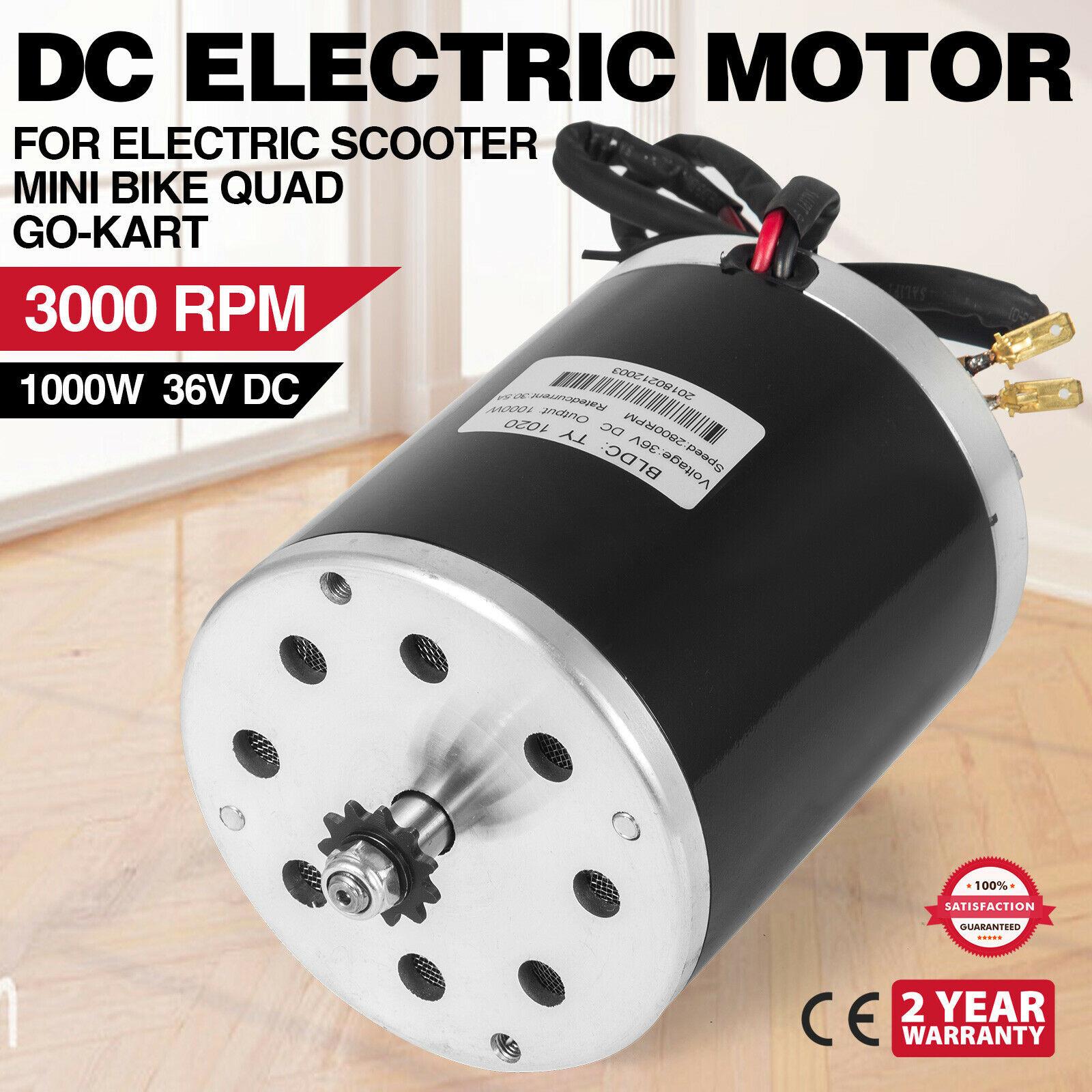 1000W 48V DC Electric Motor scooter mini bike TY1020 Quad TDM Go-kart bracket