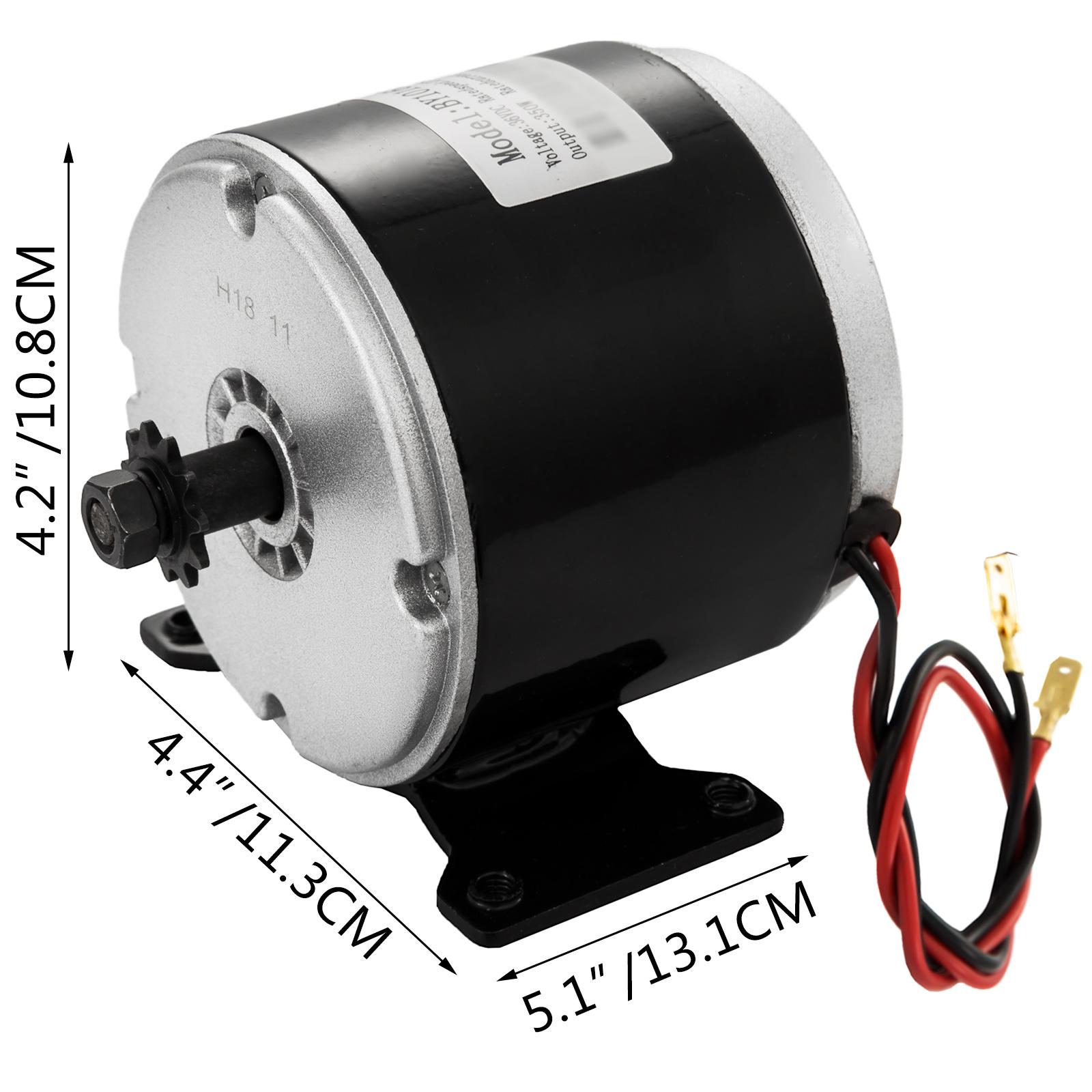 DC-electric-motor-12-60V-150W-2KW-for-scooter-bike-go-kart-minibike-e-ATV thumbnail 80