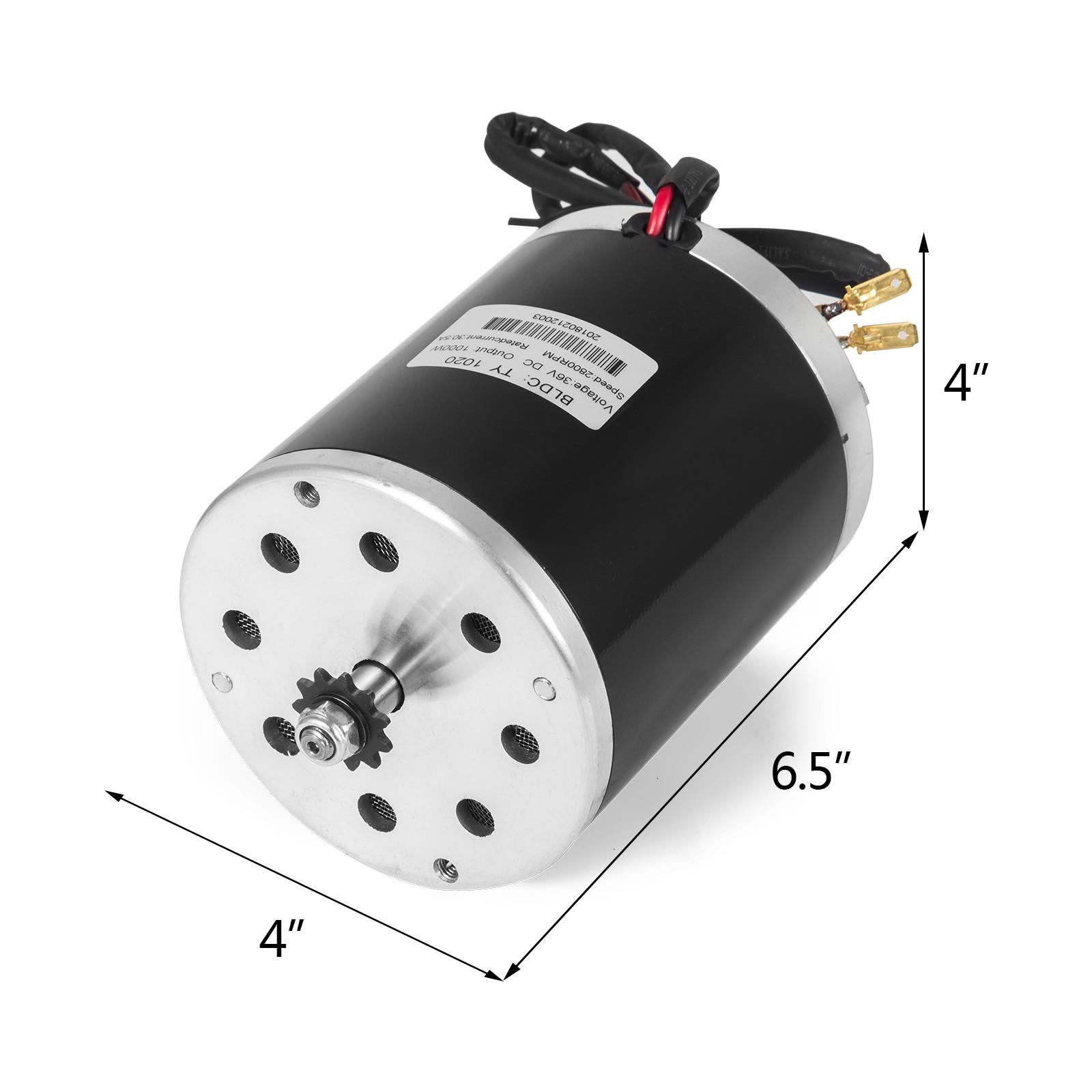 36v-Electric-Motor-controller-throttle-kit-f-Scooter-E-Scooter-ATV-Permanent thumbnail 98