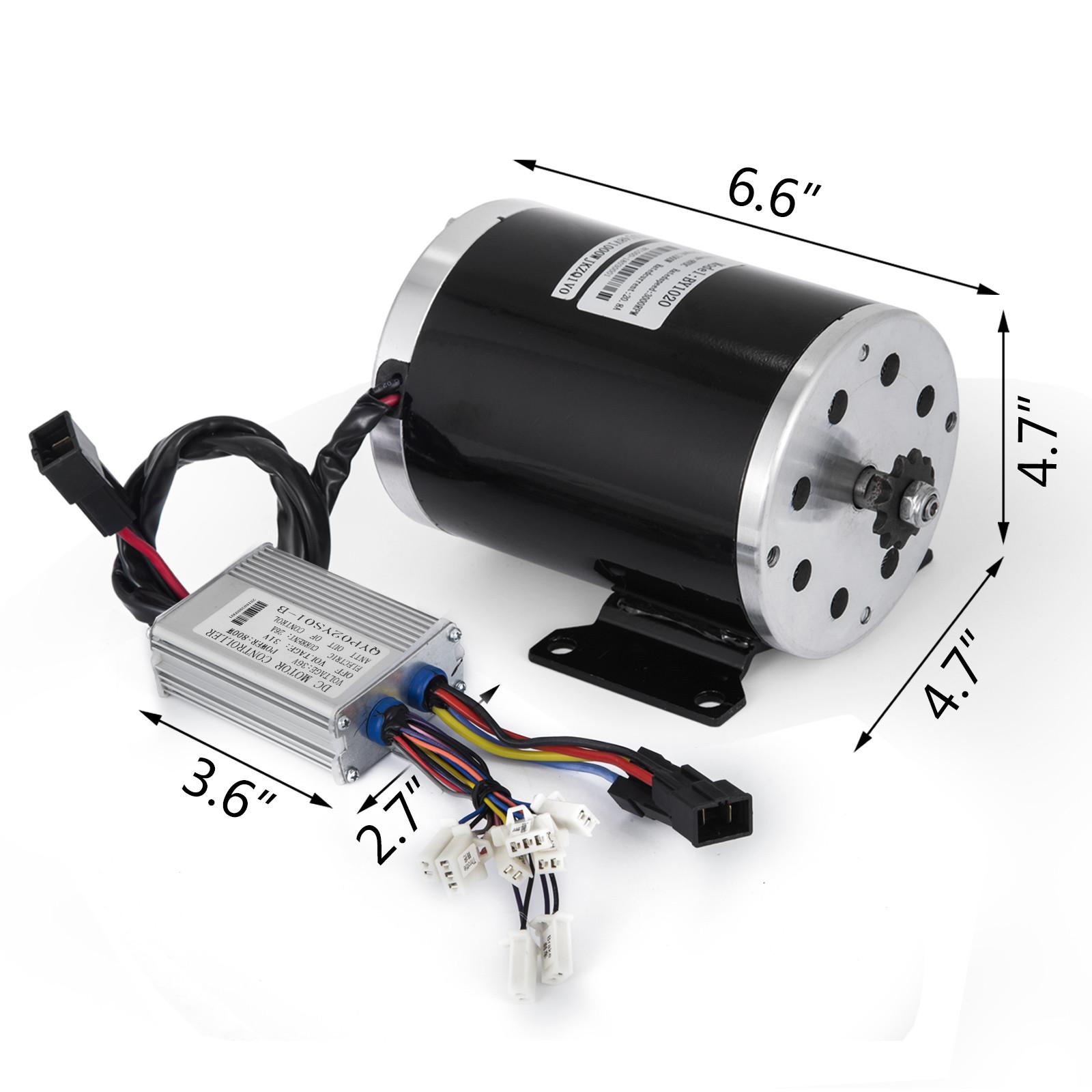 36v-Electric-Motor-controller-throttle-kit-f-Scooter-E-Scooter-ATV-Permanent thumbnail 86