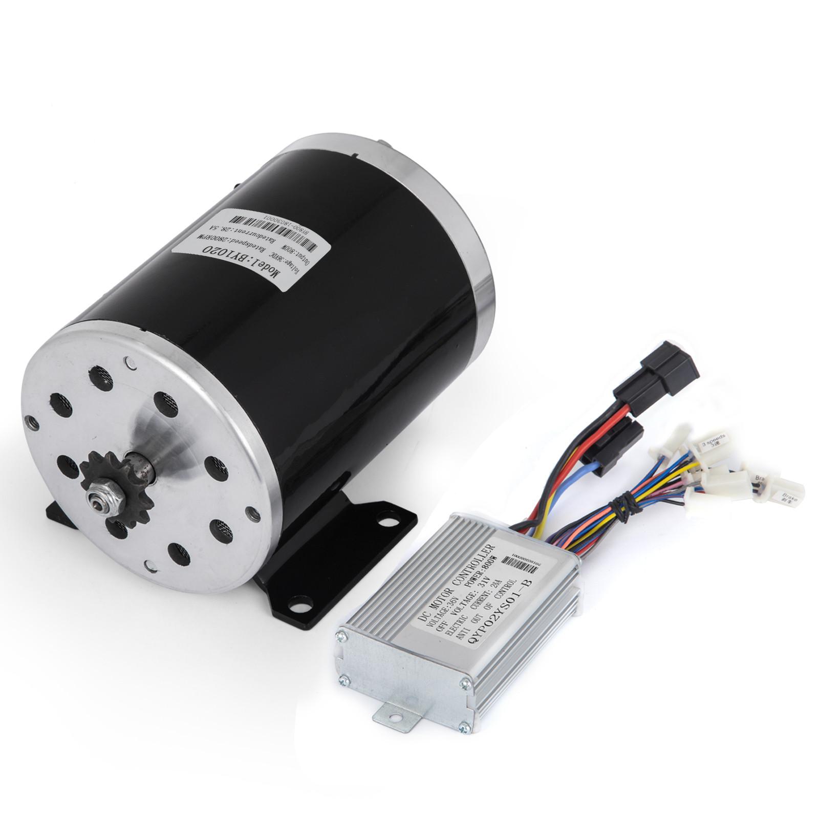 36v-Electric-Motor-controller-throttle-kit-f-Scooter-E-Scooter-ATV-Permanent thumbnail 88