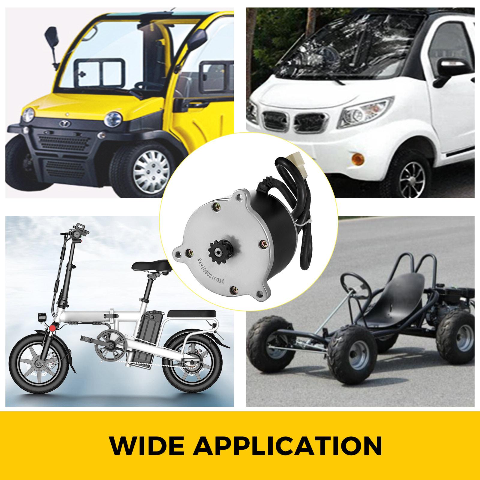 Electric-Motor-E-bike-Motor-controller-kit-DC-24v-12v-Minibike-E-Scooter-ATV thumbnail 43