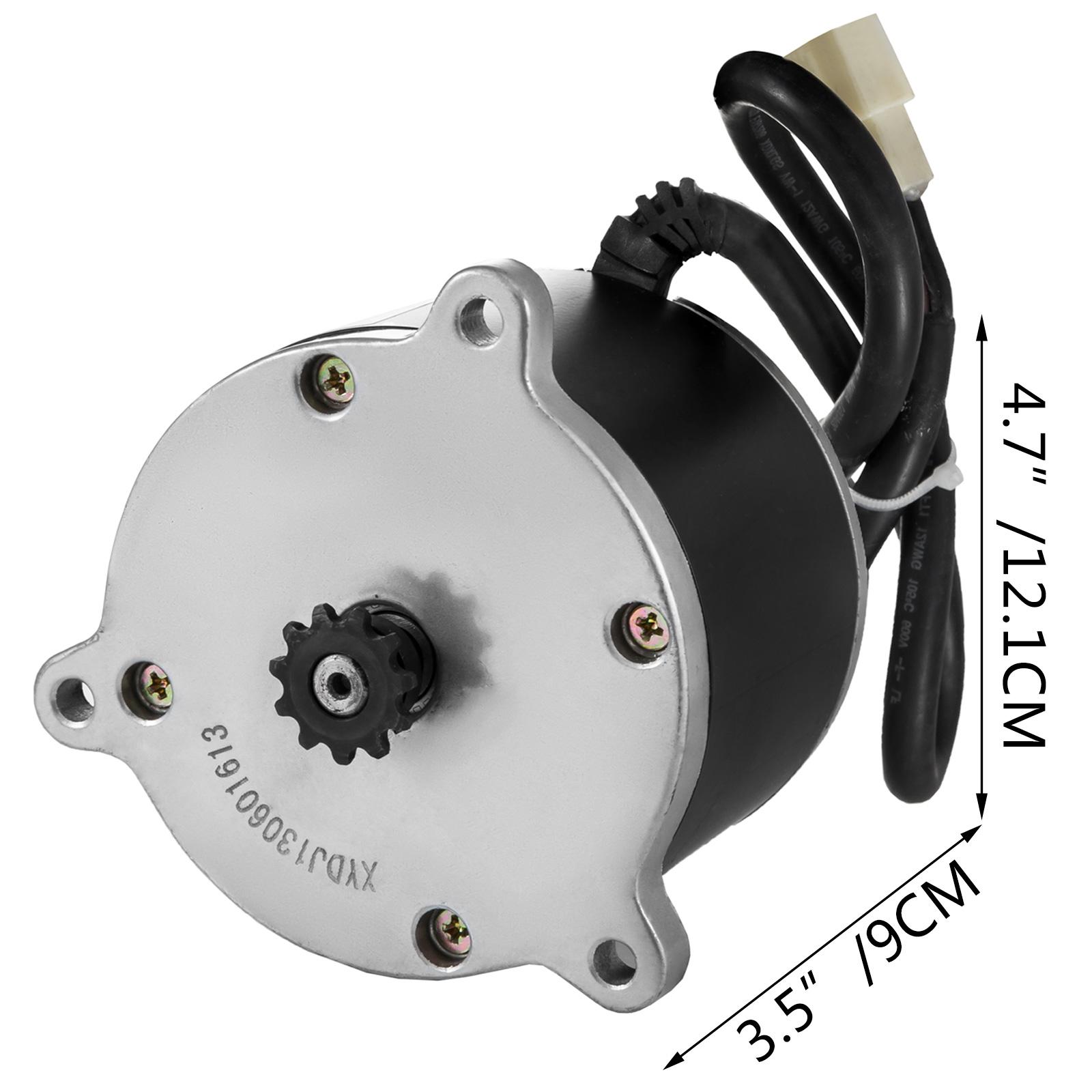 Electric-Motor-E-bike-Motor-controller-kit-DC-24v-12v-Minibike-E-Scooter-ATV thumbnail 44
