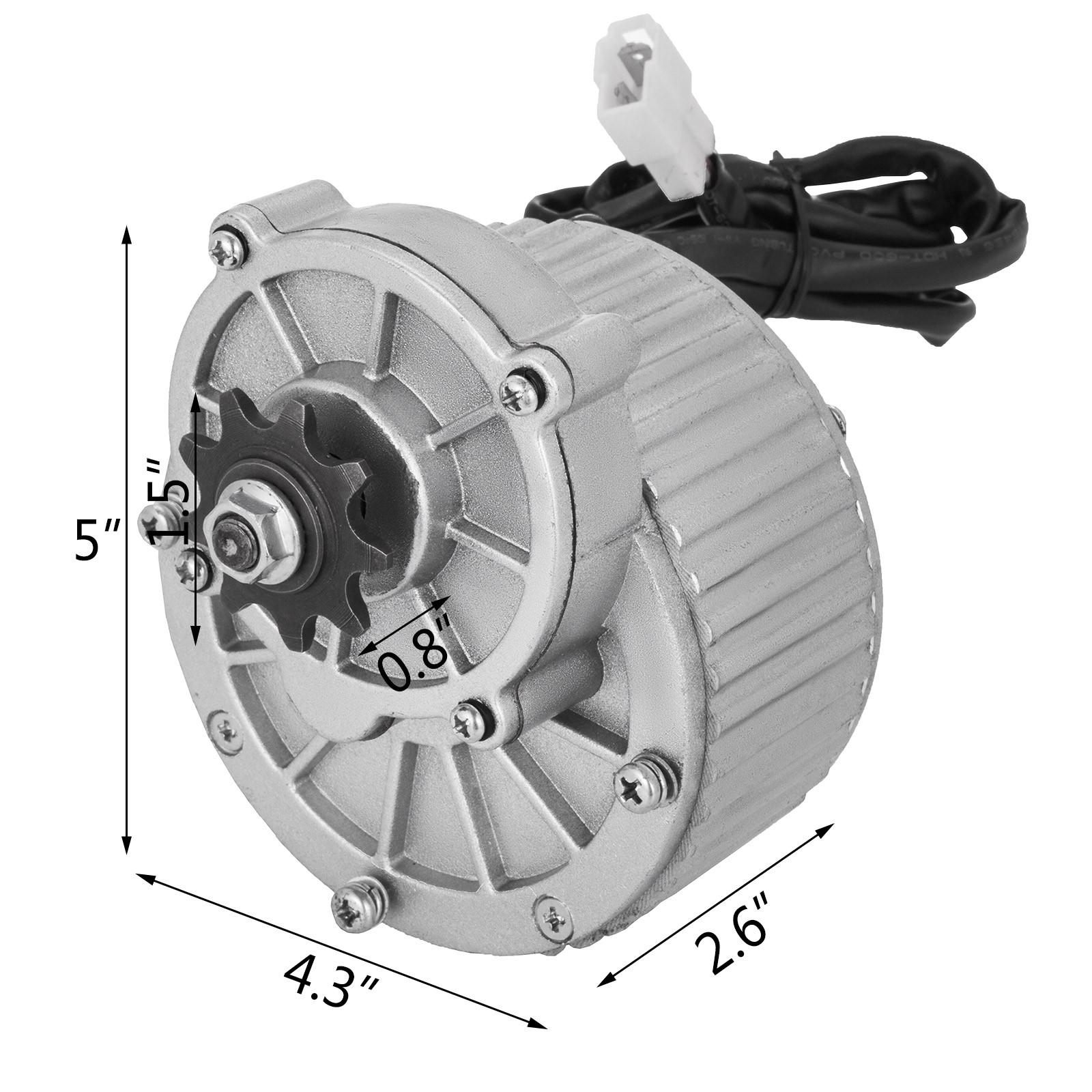 24V-500W-3500RPM-Electric-Motor-f-scooter-bike-go-kart-minibike-MY1016 thumbnail 62