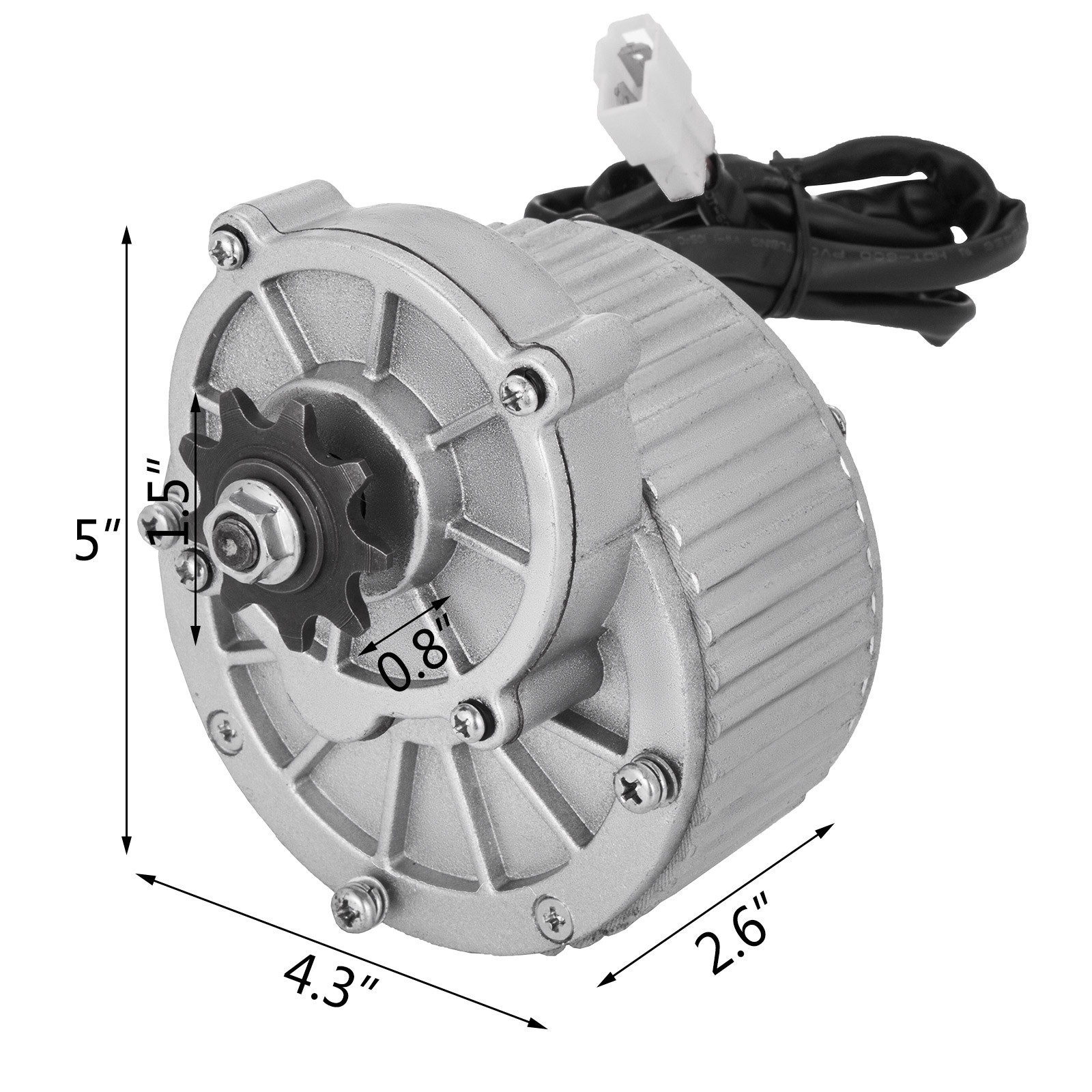 DC-electric-motor-12-60V-150W-2KW-for-scooter-bike-go-kart-minibike-e-ATV thumbnail 62