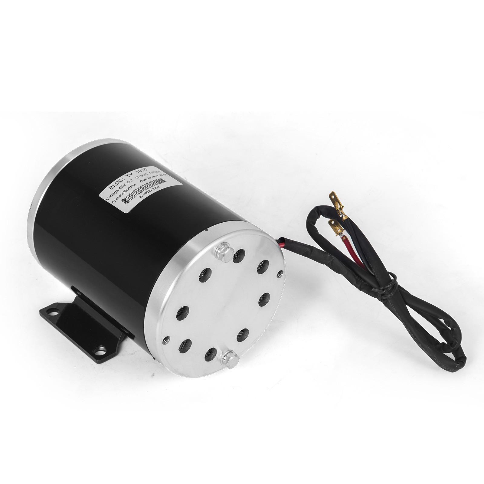 1800W-48V-DC-Brushless-Electric-Motor-Kit-f-Scooter-500-1800W-E-Bike-Go-Kart thumbnail 30