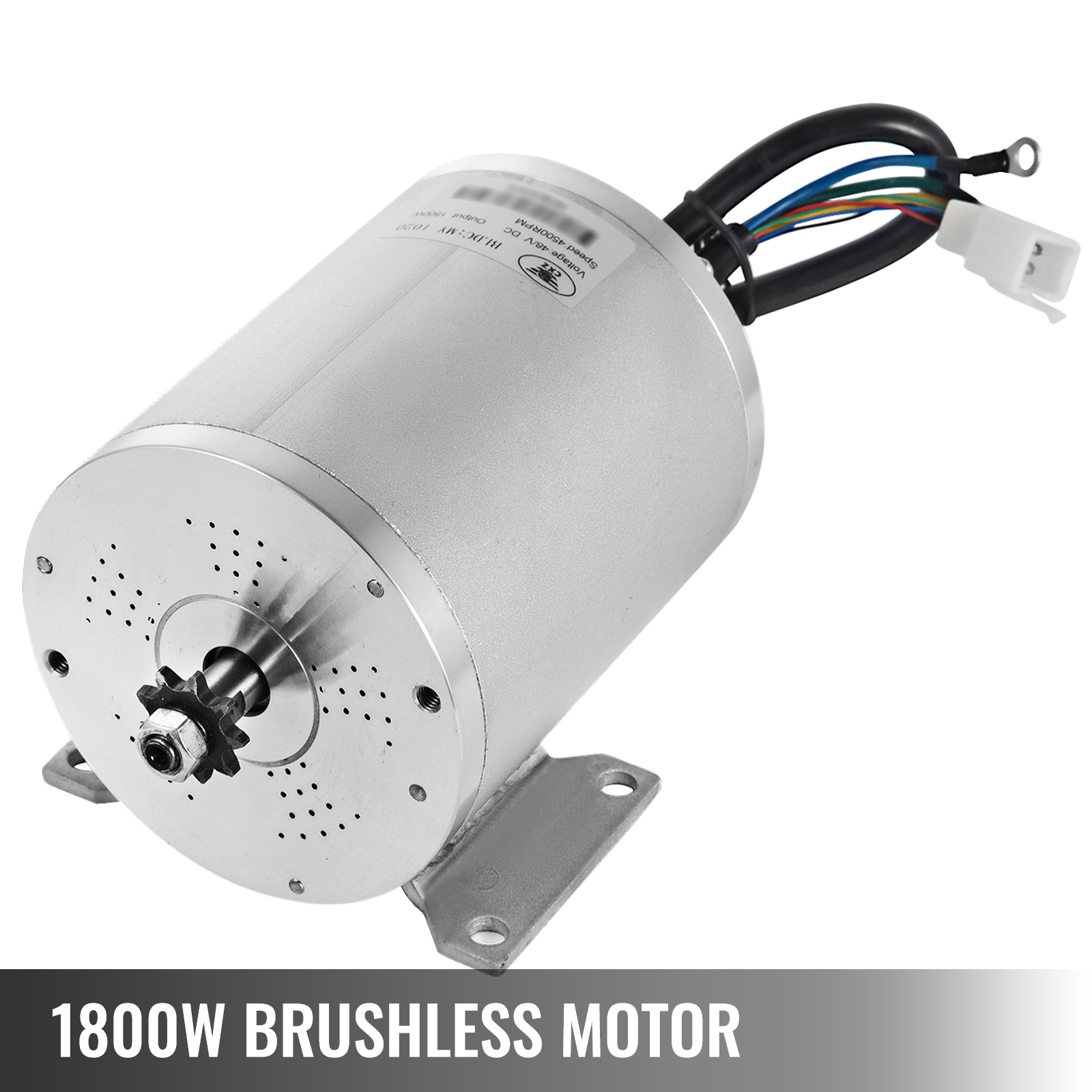 1800W-48V-DC-Brushless-Electric-Motor-Kit-f-Scooter-500-1800W-E-Bike-Go-Kart thumbnail 123