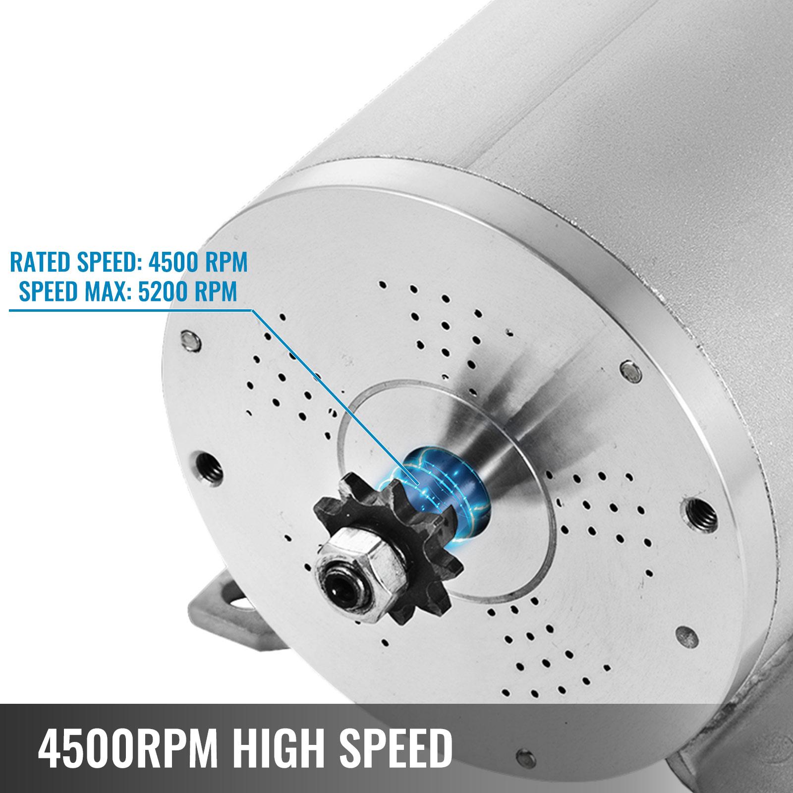 1800W-48V-DC-Brushless-Electric-Motor-Kit-f-Scooter-500-1800W-E-Bike-Go-Kart thumbnail 124