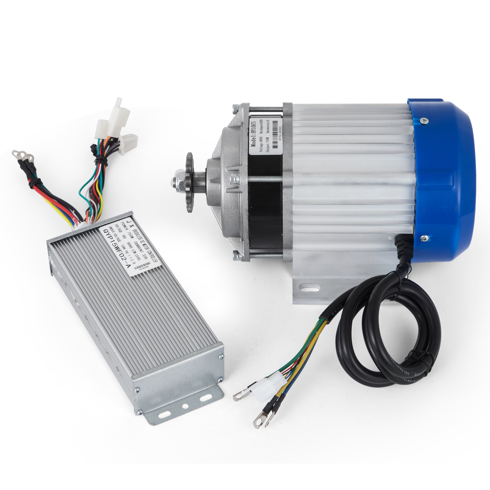 1800W-48V-DC-Brushless-Electric-Motor-Kit-f-Scooter-500-1800W-E-Bike-Go-Kart thumbnail 148