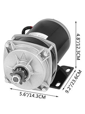 Gearmotors Automation, Motors & Drives 1000W 48 V DC electric motor f Quad Trike Go-Kart DIY ZY1020ZXF gear reduction