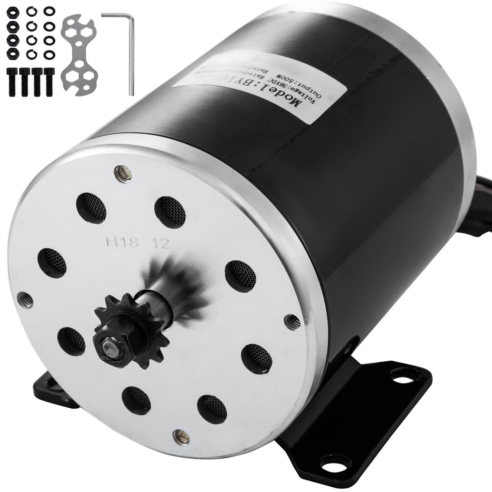 DC-electric-motor-12-60V-150W-2KW-for-scooter-bike-go-kart-minibike-e-ATV thumbnail 85