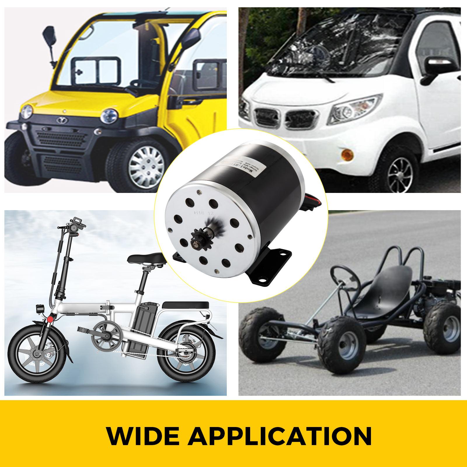 DC-electric-motor-12-60V-150W-2KW-for-scooter-bike-go-kart-minibike-e-ATV thumbnail 91