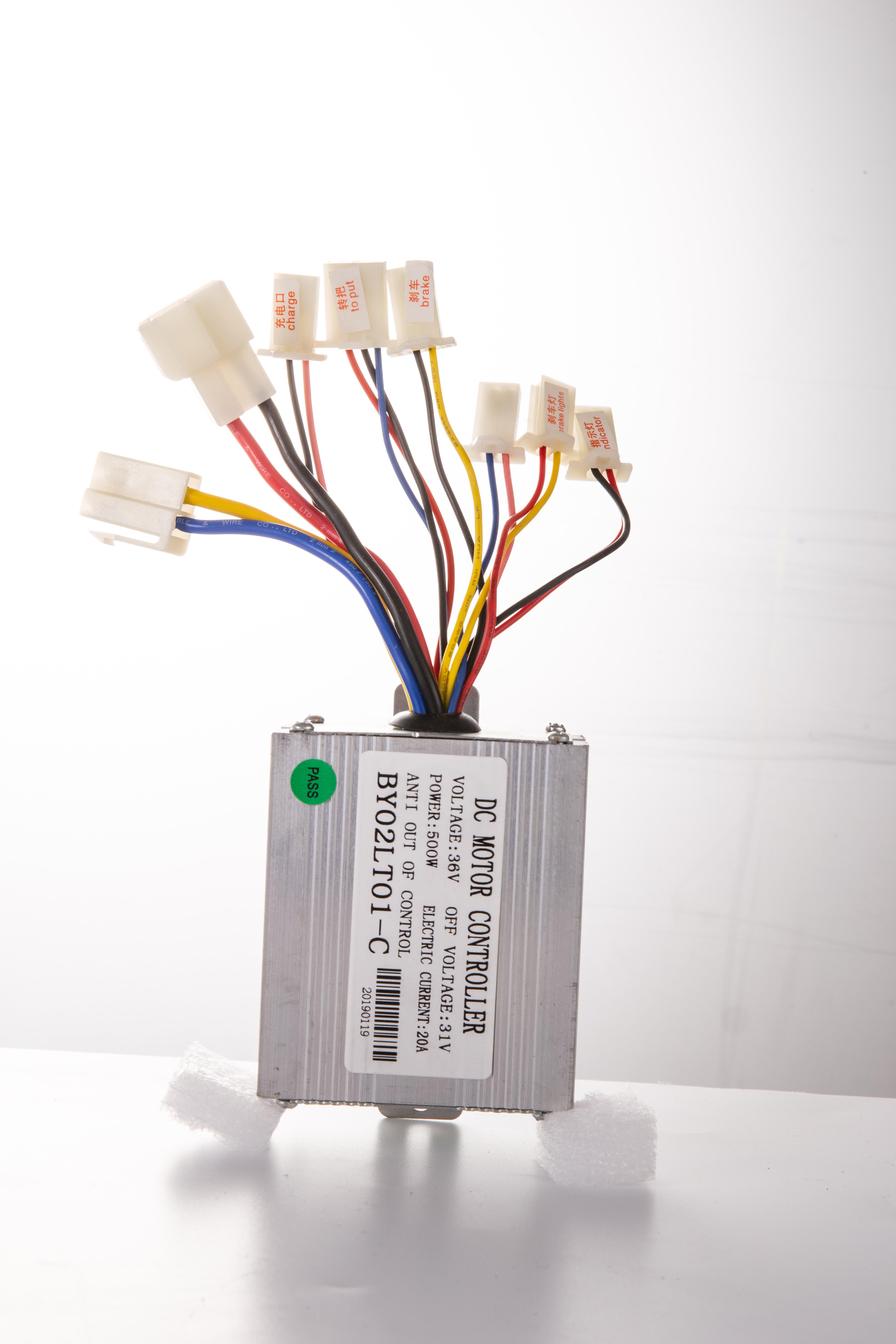 36v-Electric-Motor-controller-throttle-kit-f-Scooter-E-Scooter-ATV-Permanent thumbnail 47