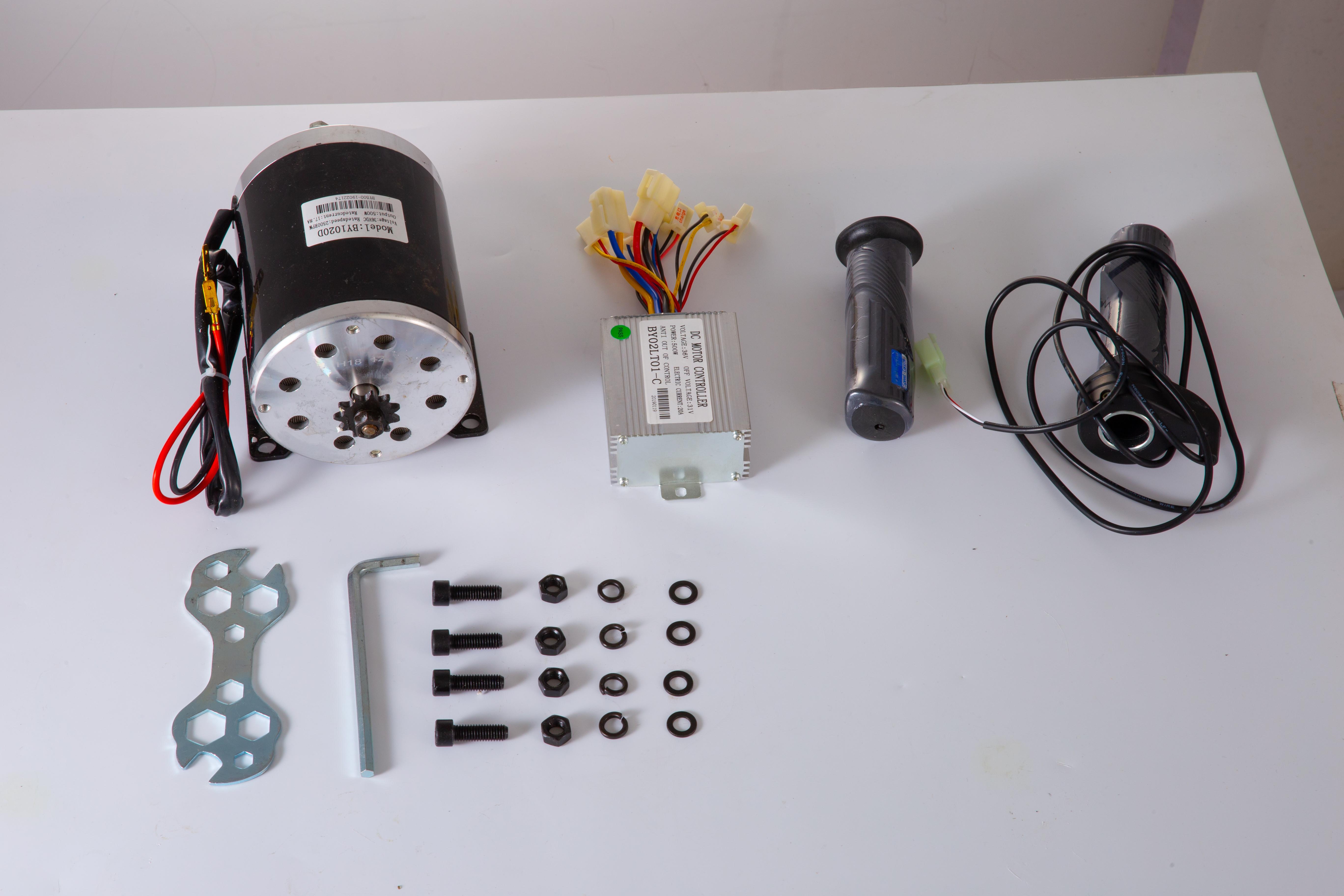 36v-Electric-Motor-controller-throttle-kit-f-Scooter-E-Scooter-ATV-Permanent thumbnail 48