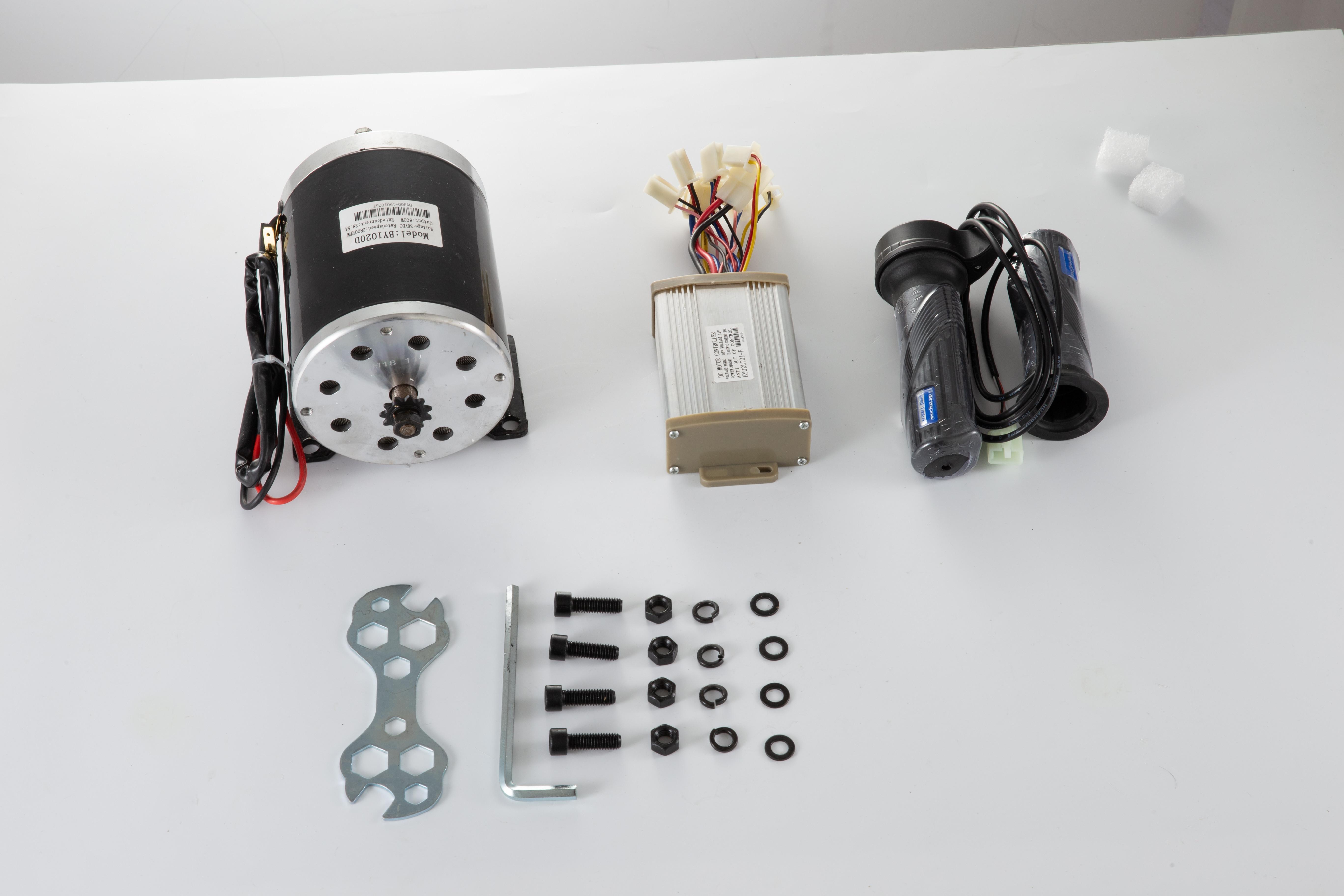 36v-Electric-Motor-controller-throttle-kit-f-Scooter-E-Scooter-ATV-Permanent thumbnail 120