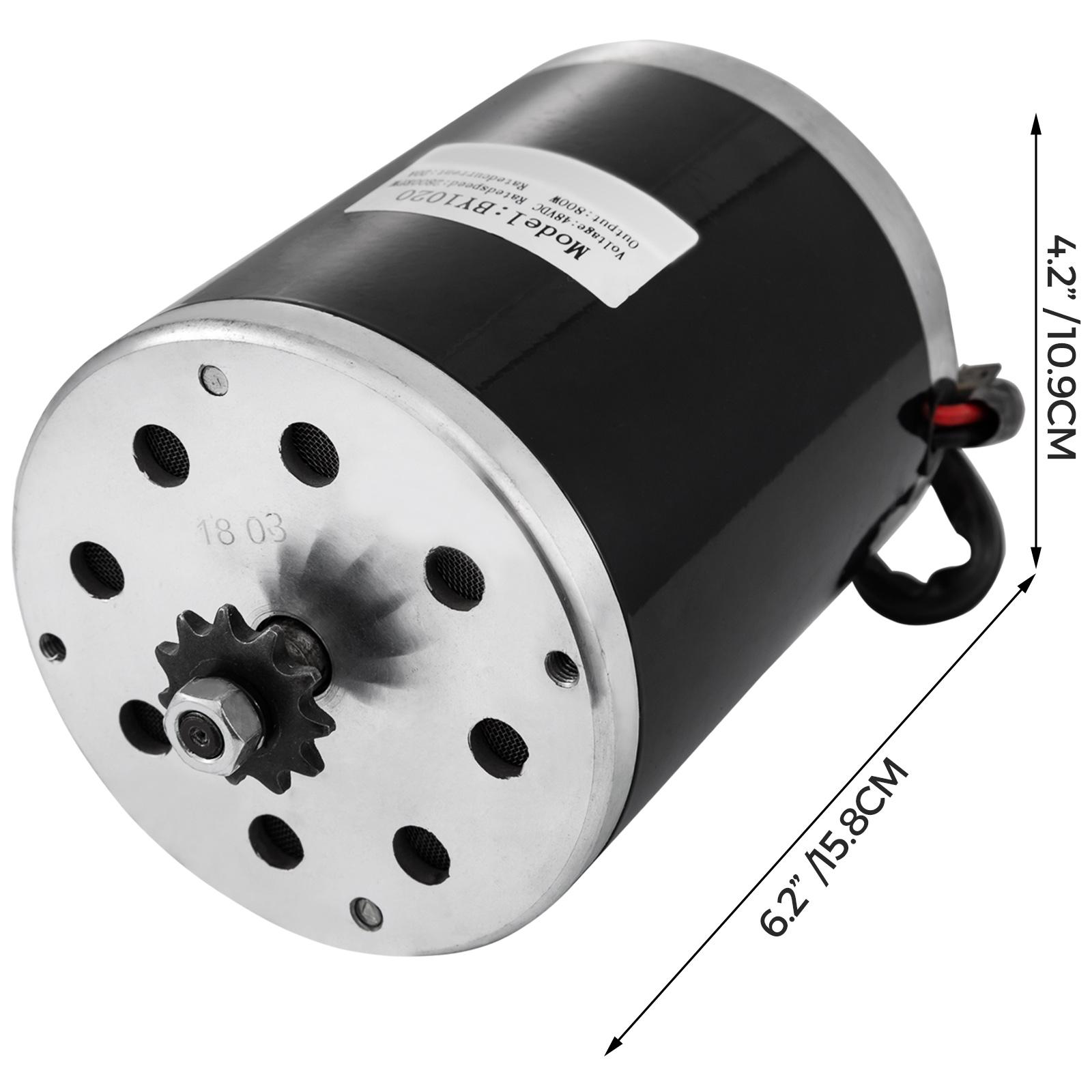1800W-48V-DC-Brushless-Electric-Motor-Kit-f-Scooter-500-1800W-E-Bike-Go-Kart thumbnail 20