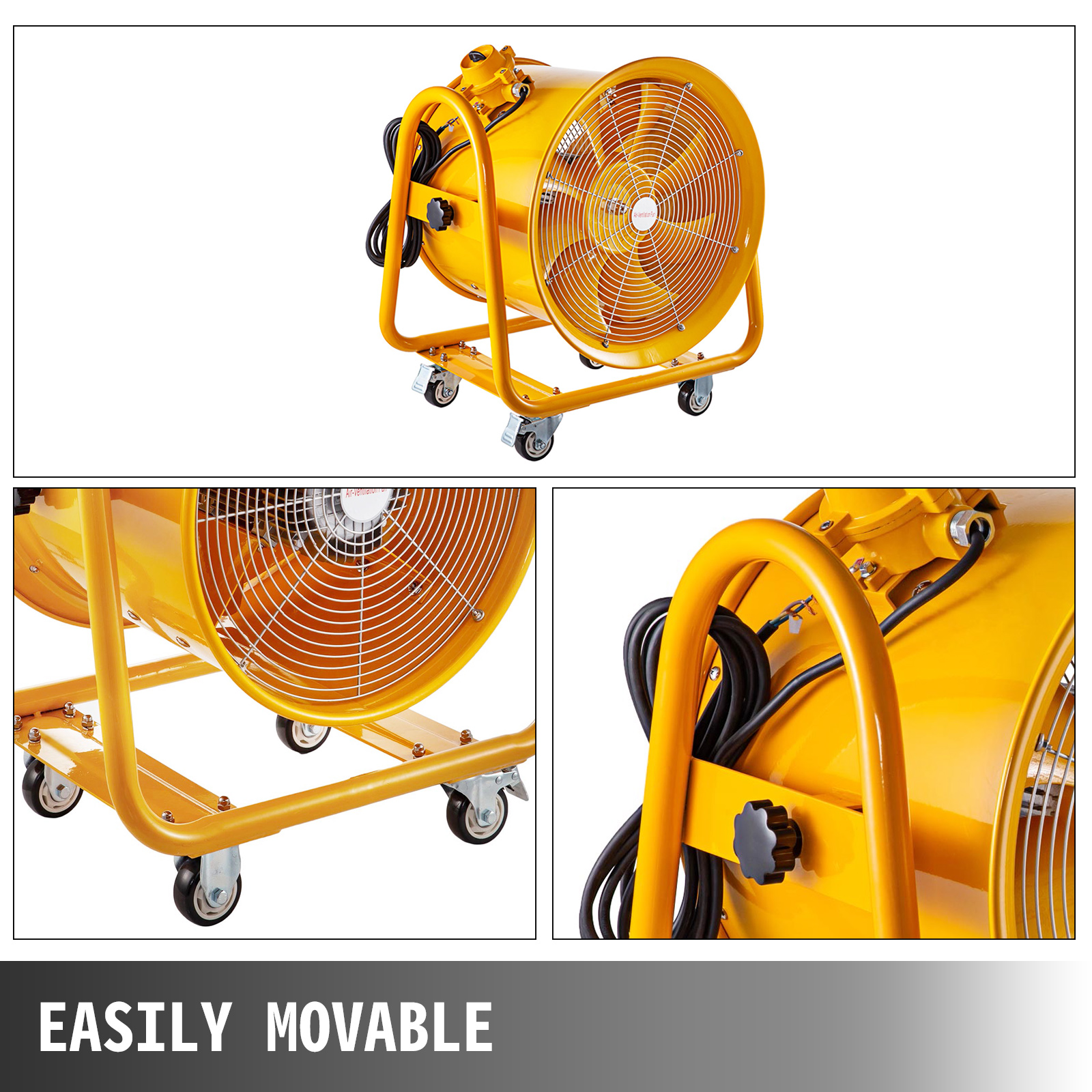 Atex Rated Ventilators, Explosion Proof Fan, 20 Inch ...