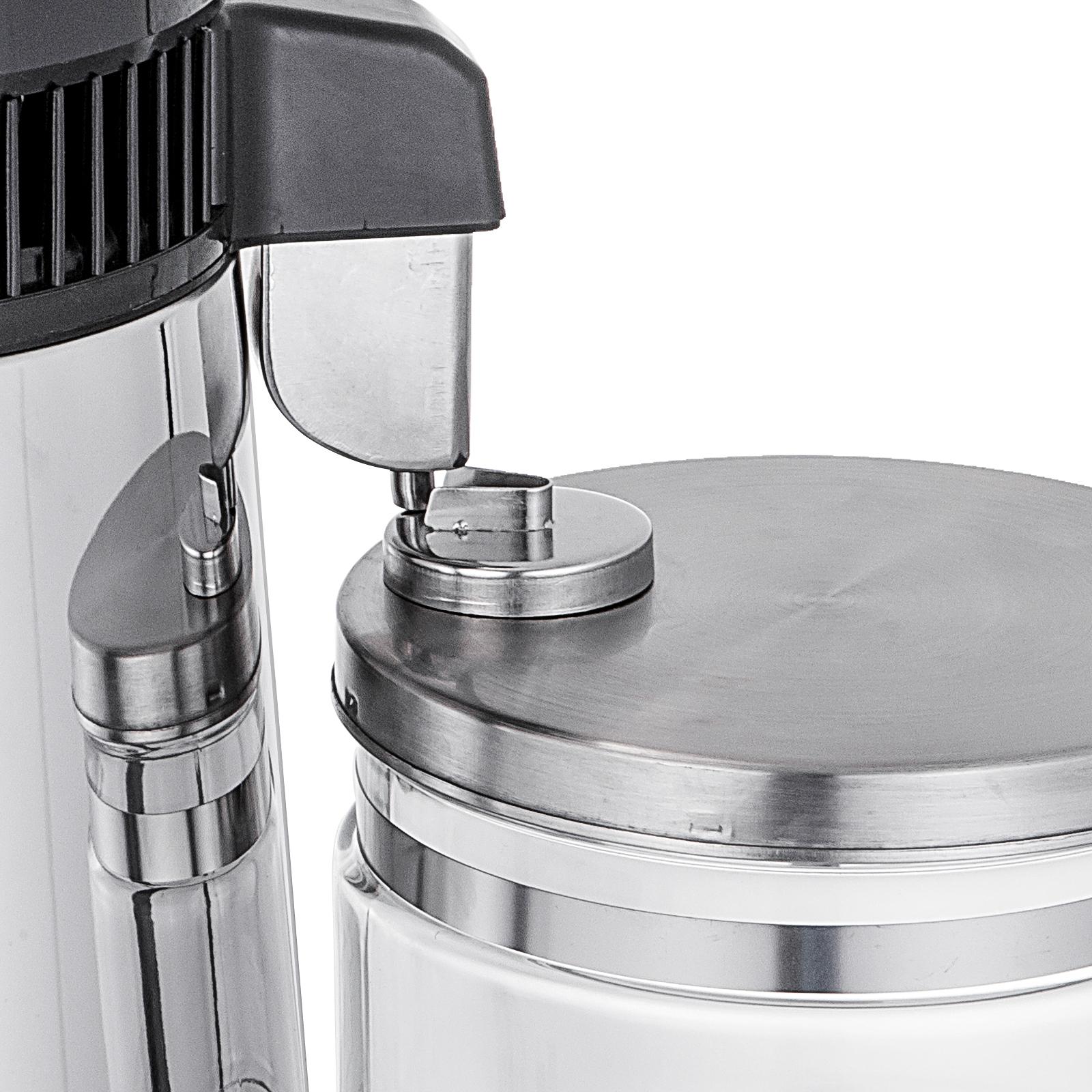 750W-4L-Wasser-Destilliergeraet-Water-Distiller-Einmachglas-Wasserflasche-Zuhause Indexbild 33