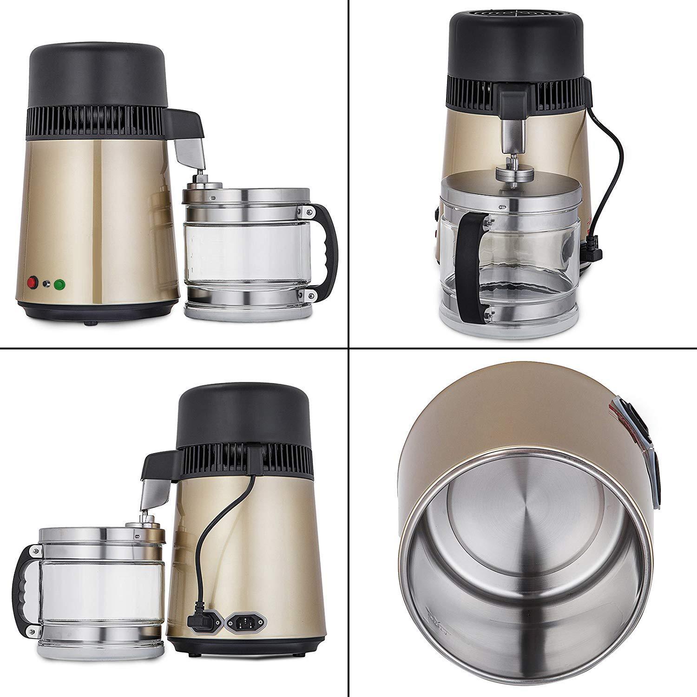 750W-4L-Wasser-Destilliergeraet-Water-Distiller-Einmachglas-Wasserflasche-Zuhause Indexbild 48