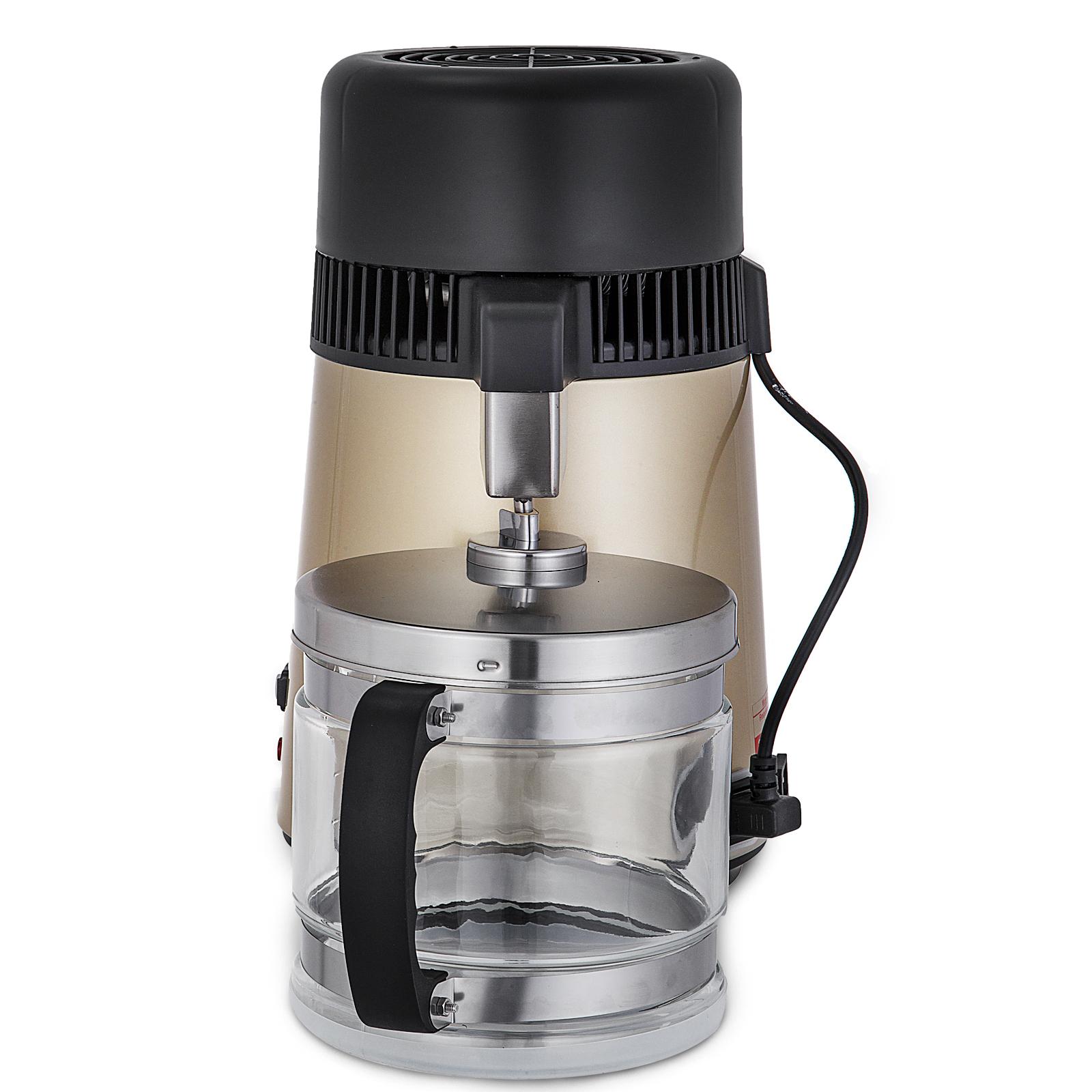 750W-4L-Wasser-Destilliergeraet-Water-Distiller-Einmachglas-Wasserflasche-Zuhause Indexbild 39
