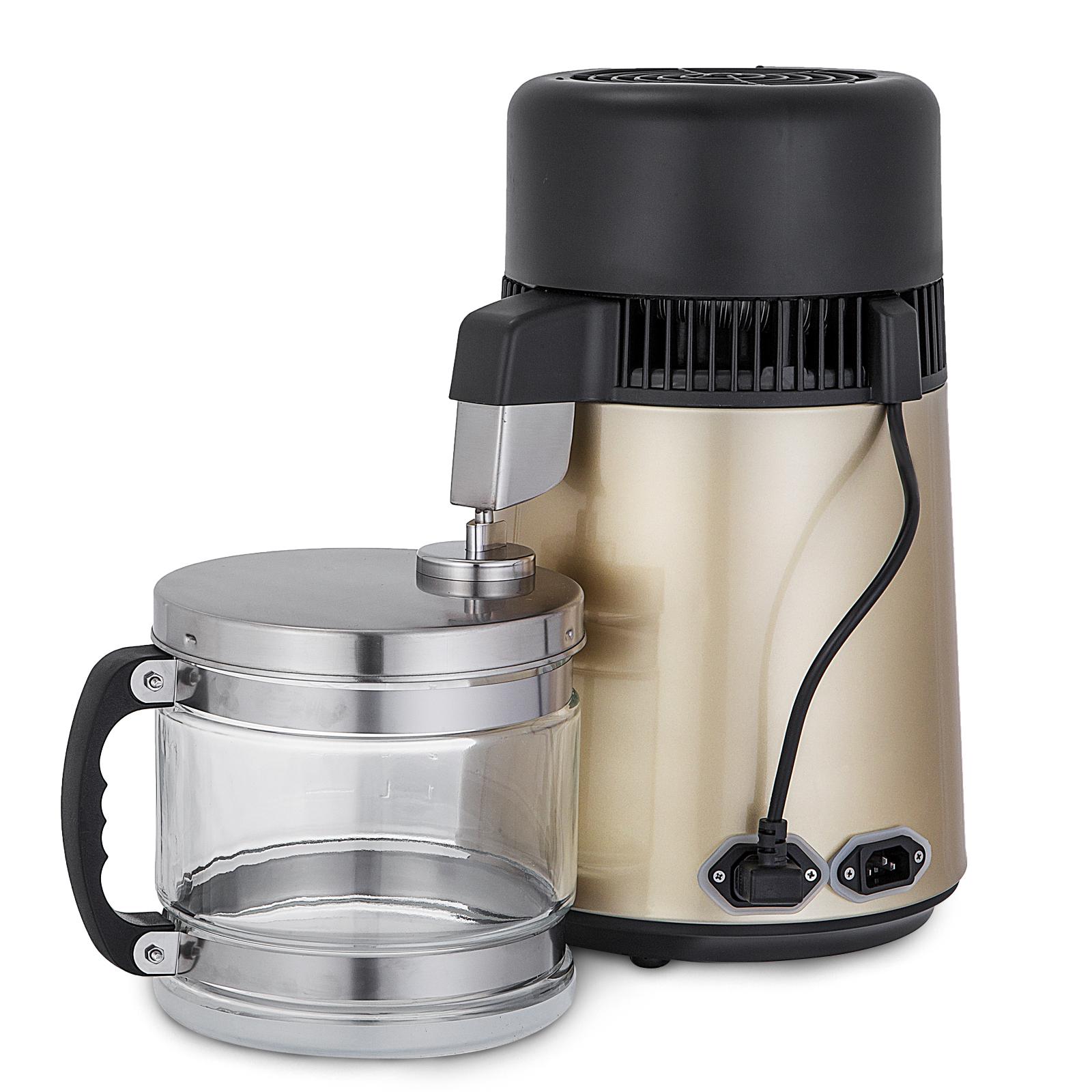 750W-4L-Wasser-Destilliergeraet-Water-Distiller-Einmachglas-Wasserflasche-Zuhause Indexbild 40
