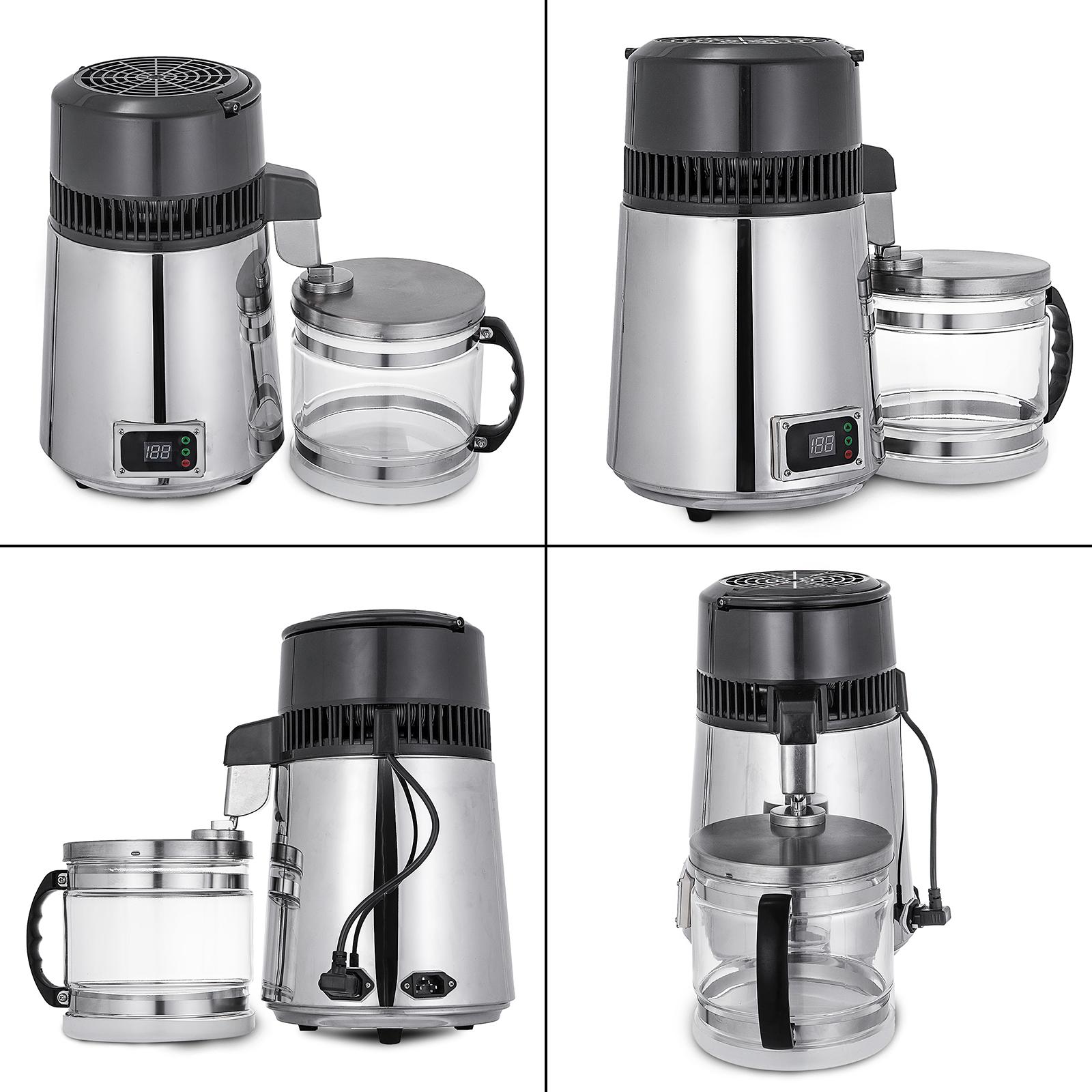750W-4L-Wasser-Destilliergeraet-Water-Distiller-Einmachglas-Wasserflasche-Zuhause Indexbild 72