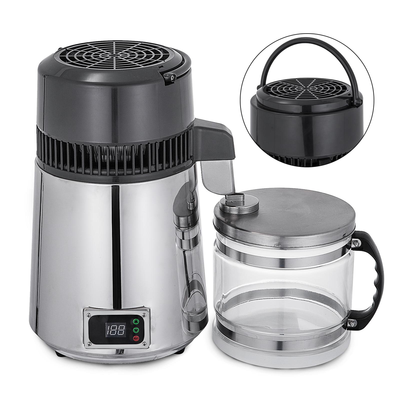 750W-4L-Wasser-Destilliergeraet-Water-Distiller-Einmachglas-Wasserflasche-Zuhause Indexbild 63