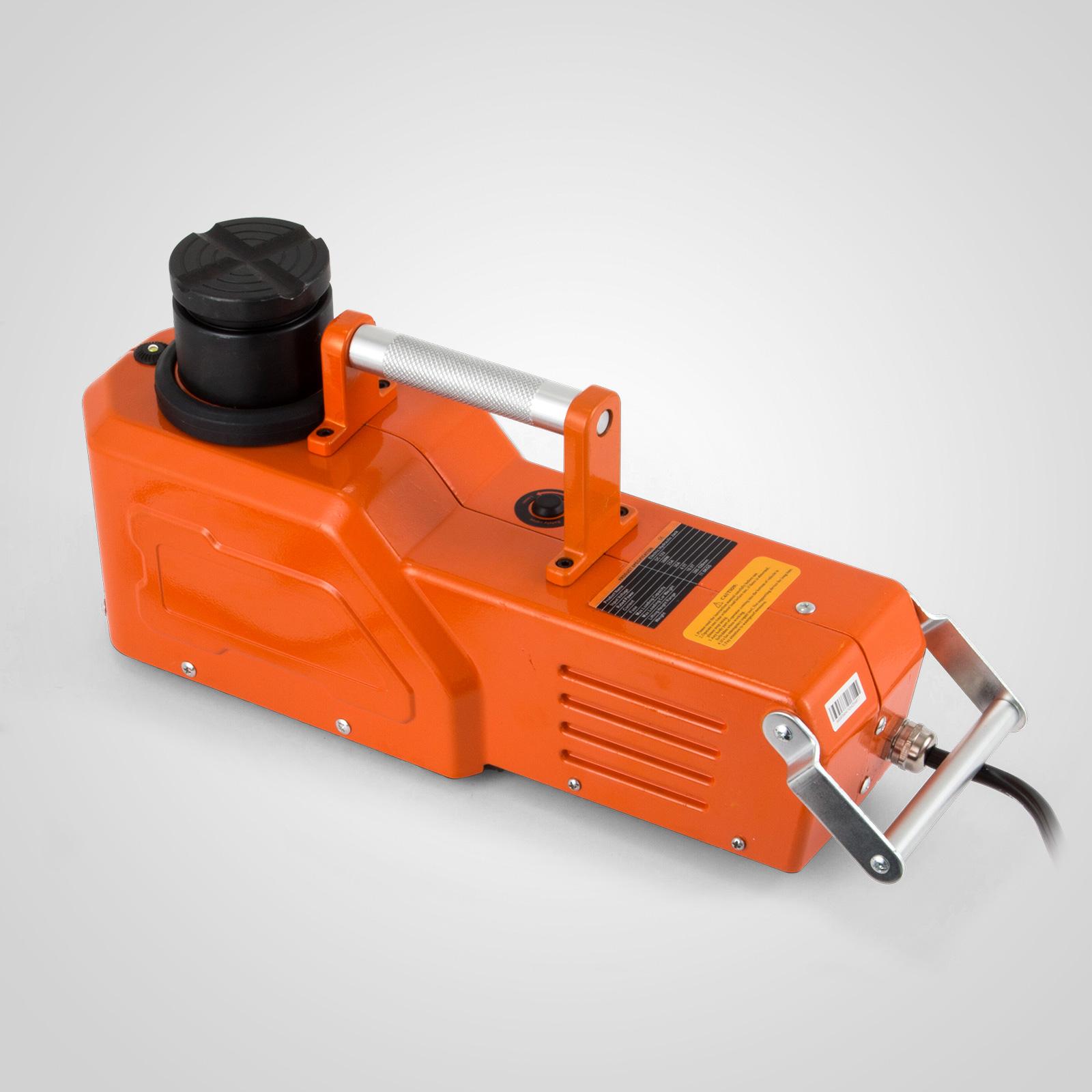 12V Hydraulic Floor Jack Electric Car Lift 9900lbs Adjustable 4.5T  Car Use