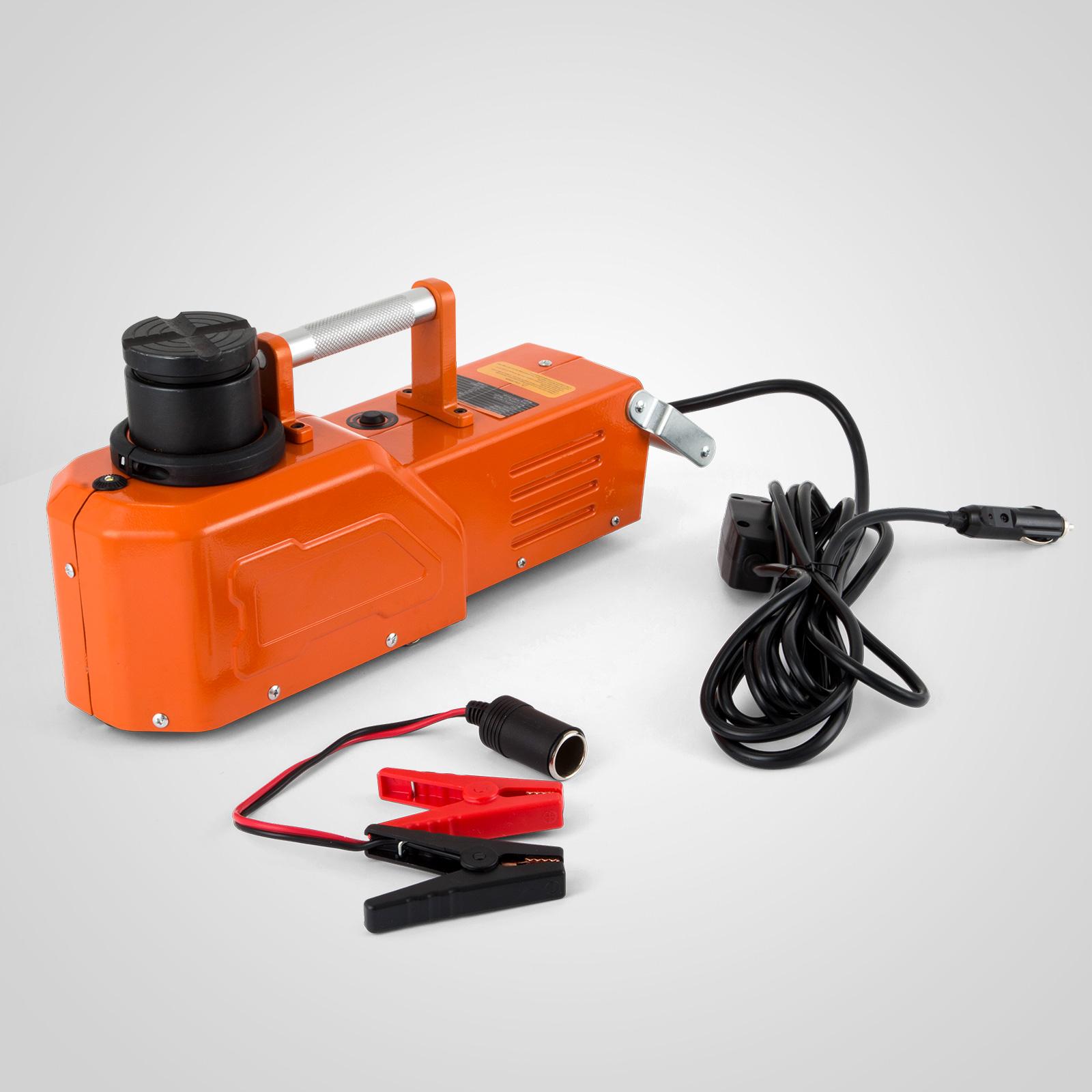 12V Hydraulic Floor Jack Electric Car Lift 9900lbs ...