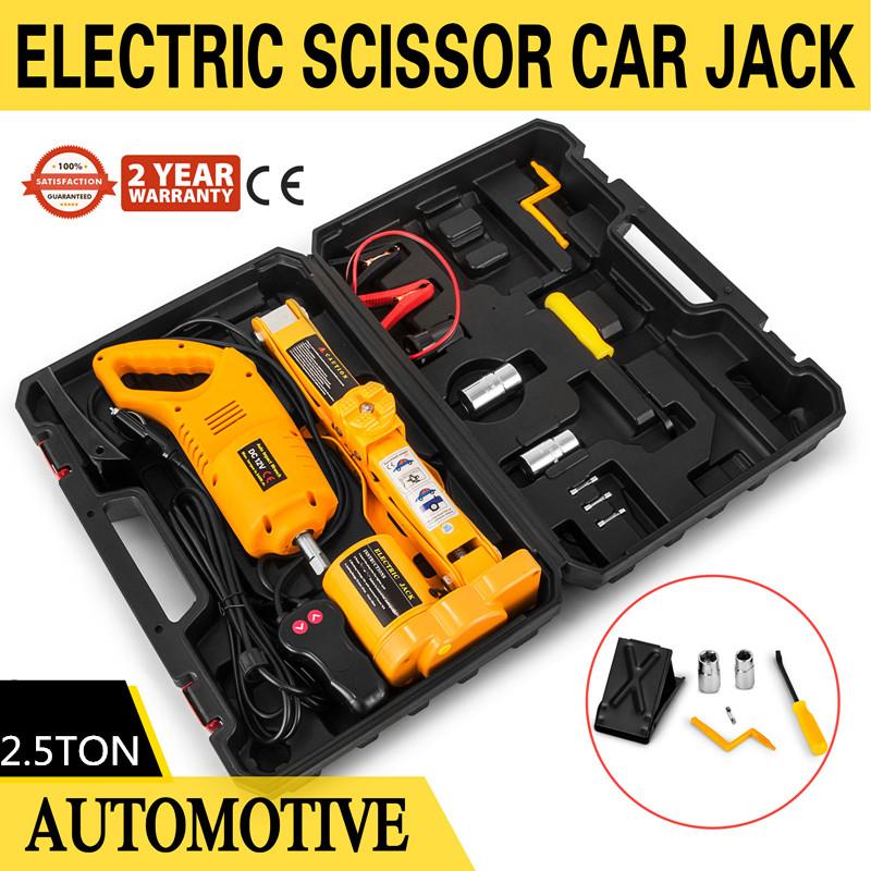 Electric Scissor V Auto Car Jack Lift