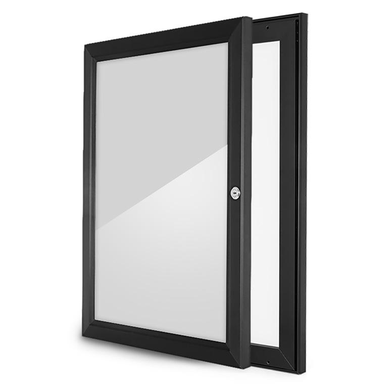 A3 Outdoor Lockable Display Case Box Poster Menu Holder Notice Board