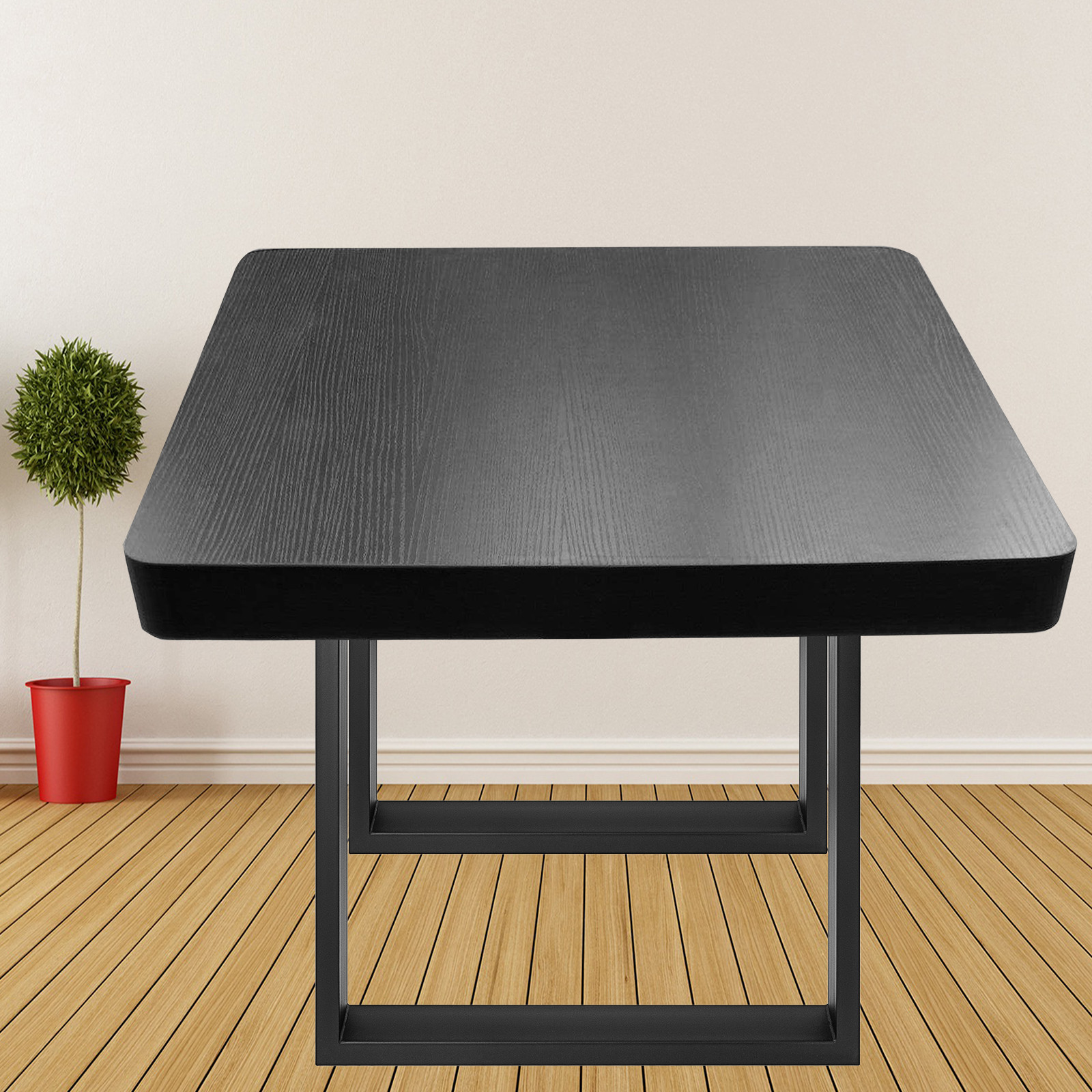 2X-Table-Legs-Black-Dining-Table-Leg-Heavy-Duty-Computer-Desk-Legs-Rectangle thumbnail 23