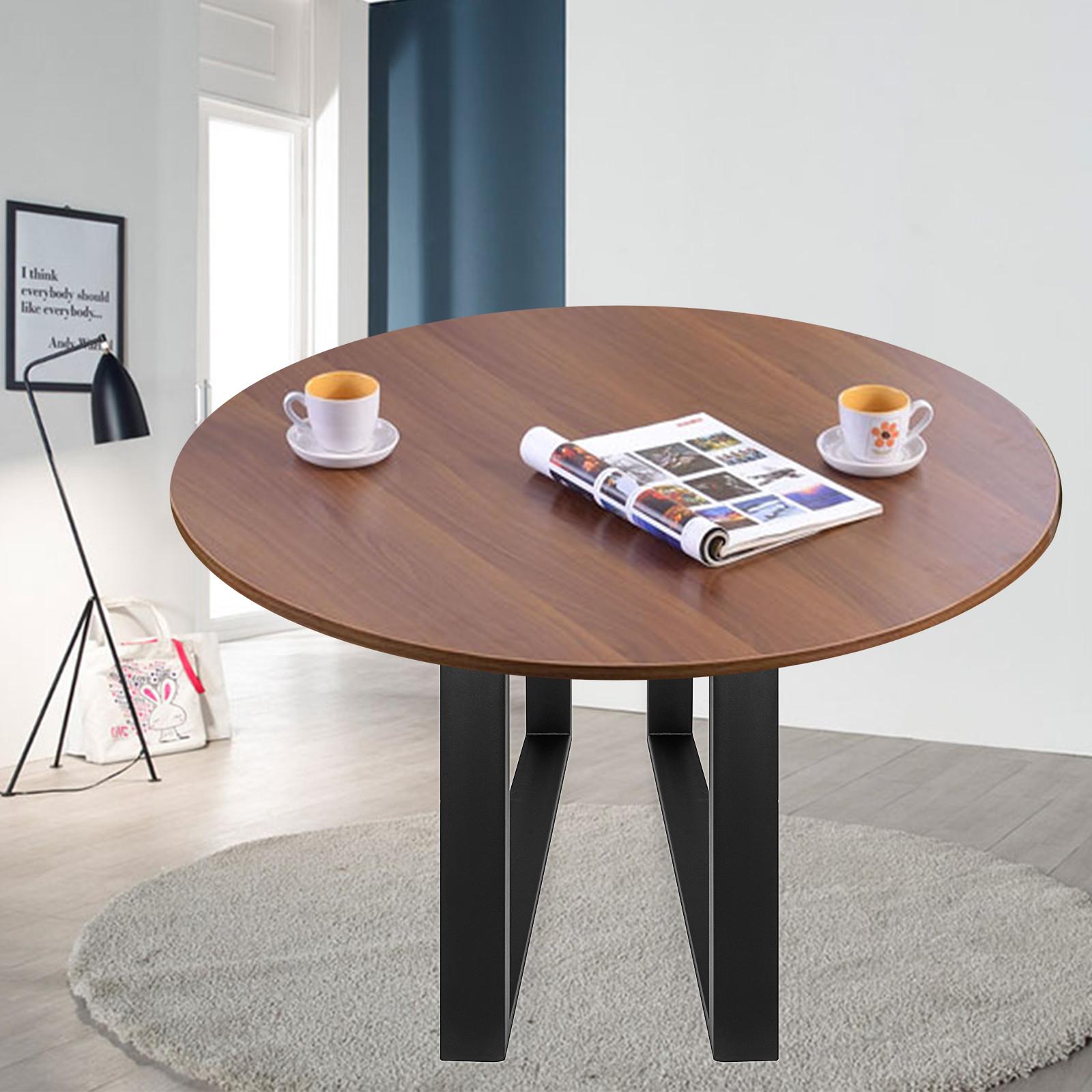 Detalles de 2x Patas de Mesa O Design Patas de Metal Pie Diseño Mesa de  Cocina Negro