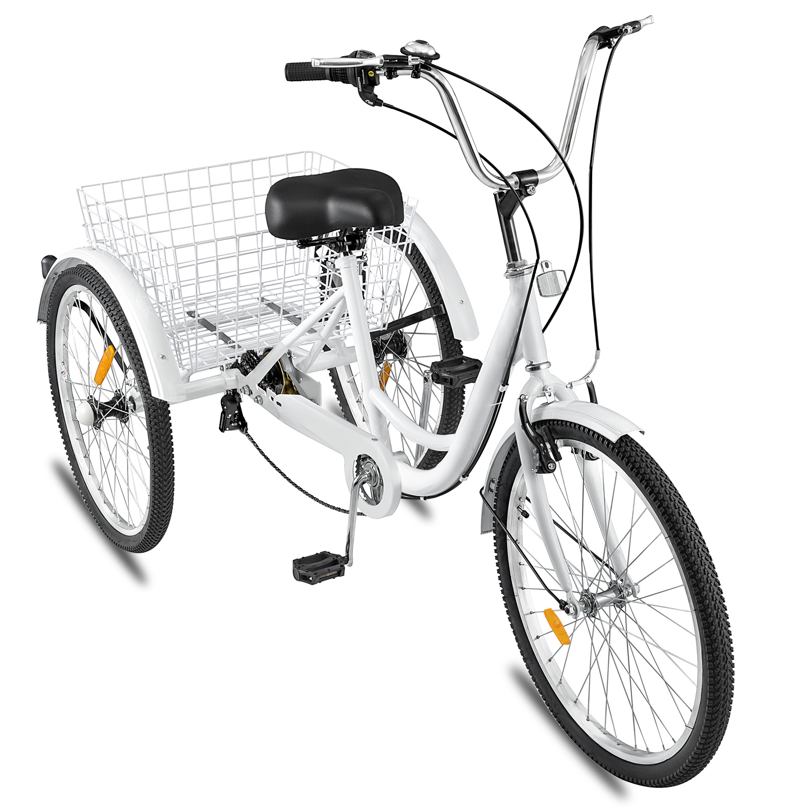 20-24-26-034-Adult-Tricycle-1-7-Speed-3-Wheel-Large-Basket-For-Shopping-Optional thumbnail 141