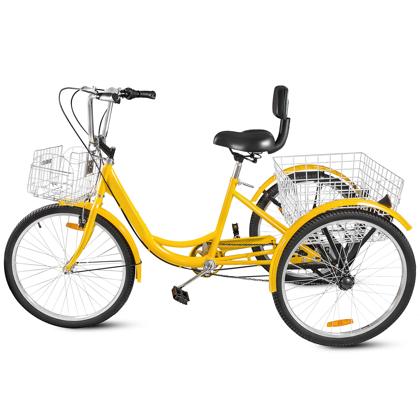 20-24-26-034-Adult-Tricycle-1-7-Speed-3-Wheel-For-Shopping-W-Installation-Tools miniature 382