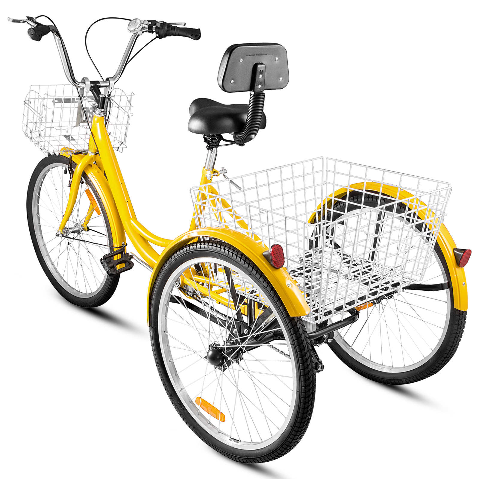 20-24-26-034-Adult-Tricycle-1-7-Speed-3-Wheel-For-Shopping-W-Installation-Tools miniature 384