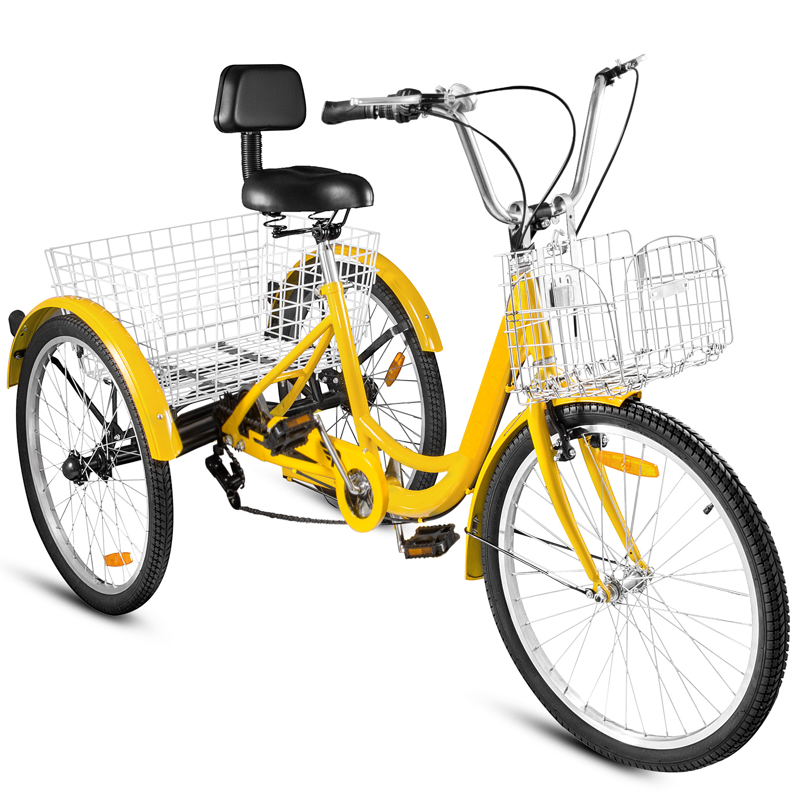 20-24-26-034-Adult-Tricycle-1-7-Speed-3-Wheel-For-Shopping-W-Installation-Tools miniature 381