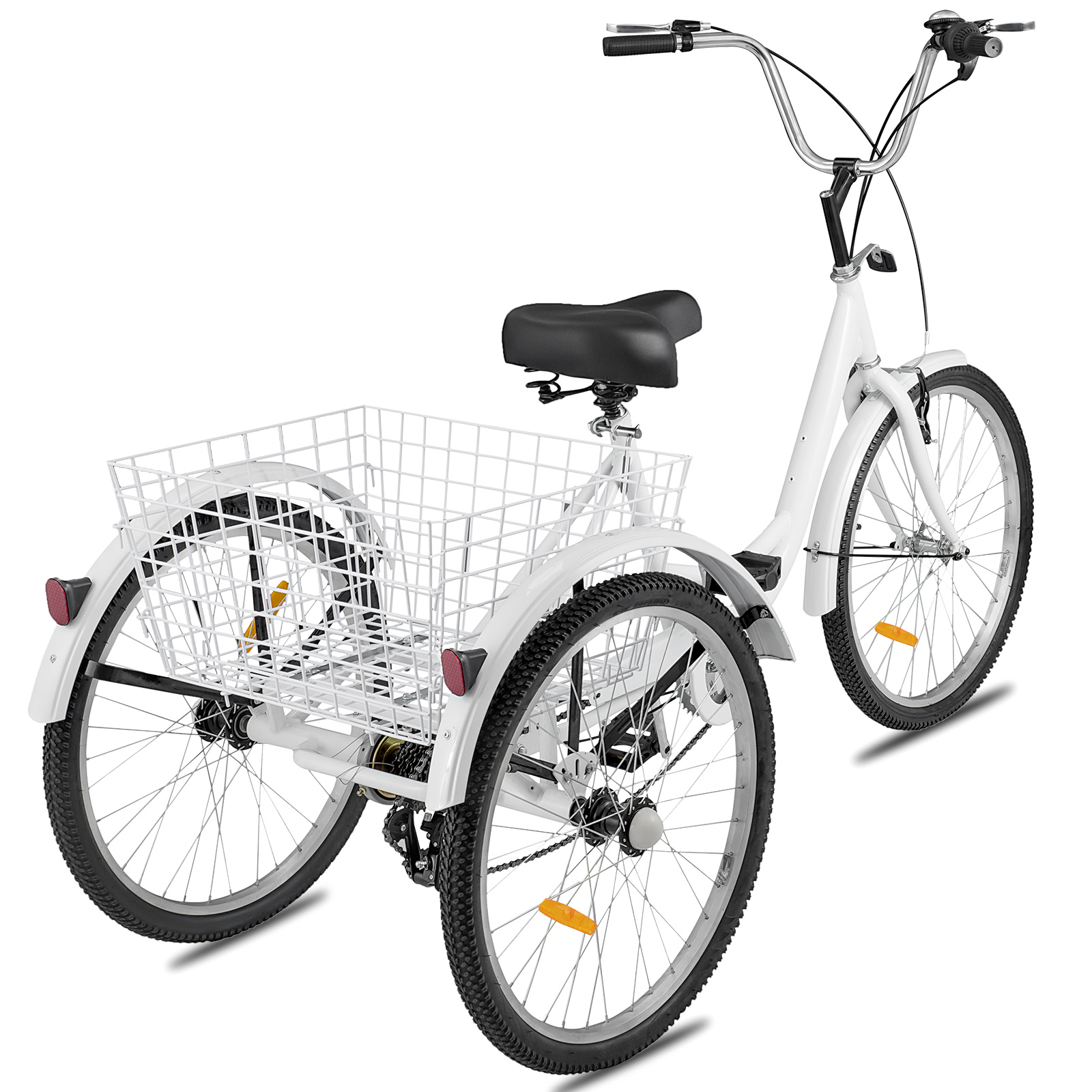 20-24-26-034-Adult-Tricycle-1-7-Speed-3-Wheel-Large-Basket-For-Shopping-Optional thumbnail 335